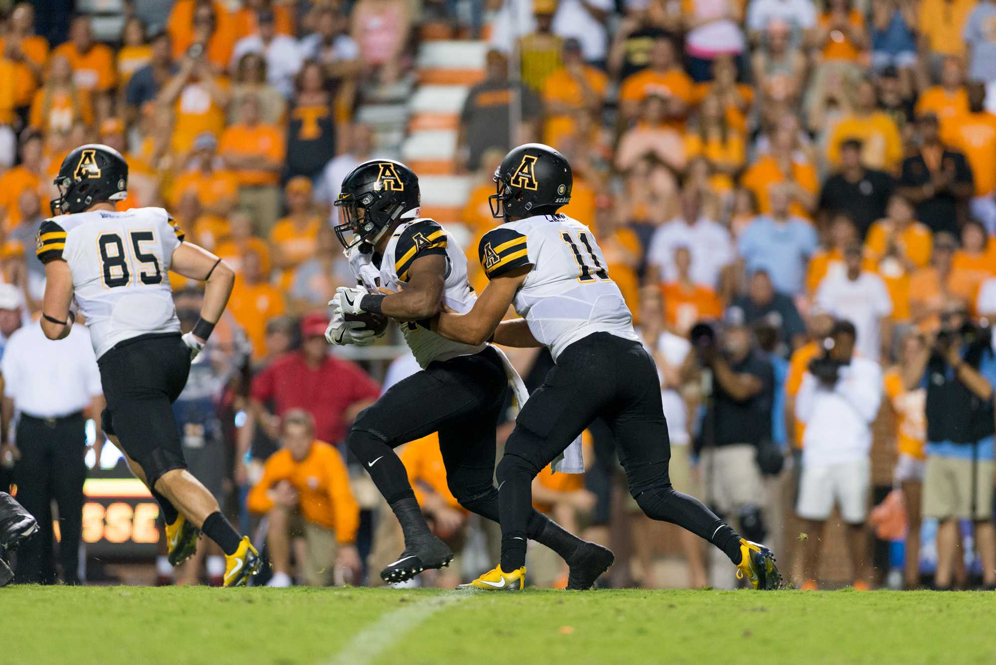 Rapid Reaction: App State vs. Tennessee