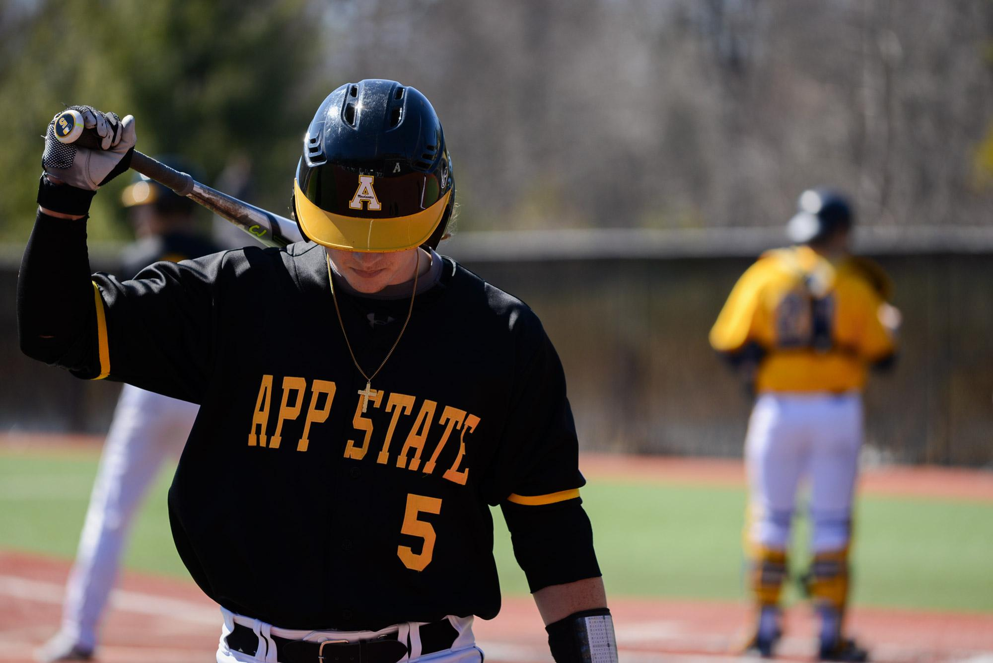App State Baseball falls to Quinnipiac in both games during Sunday's doubleheader