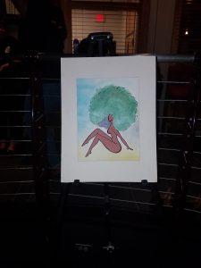 Leann Smith's visual art on display at Black Arts.