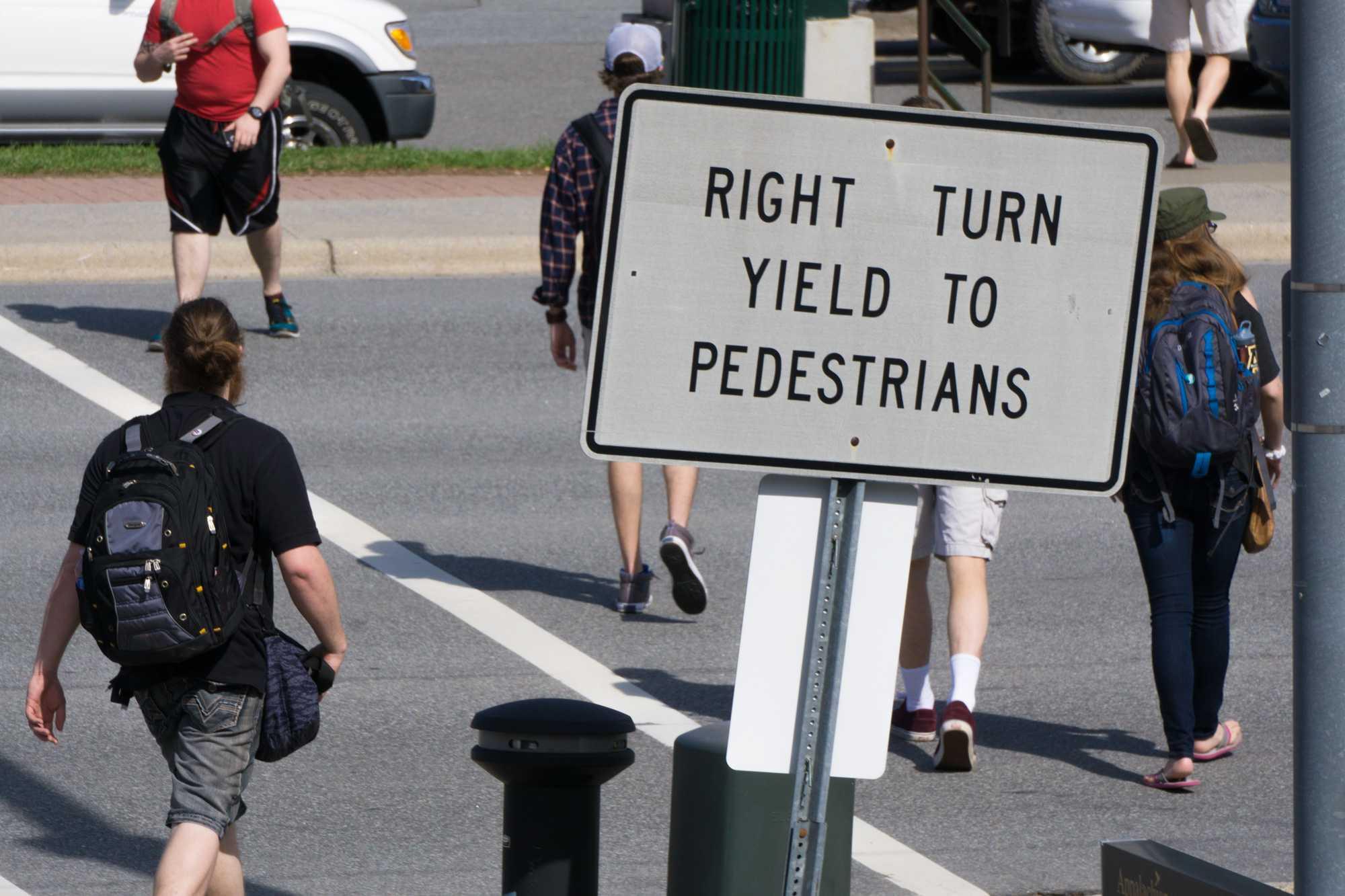 SGA senator advocates for new crosswalk