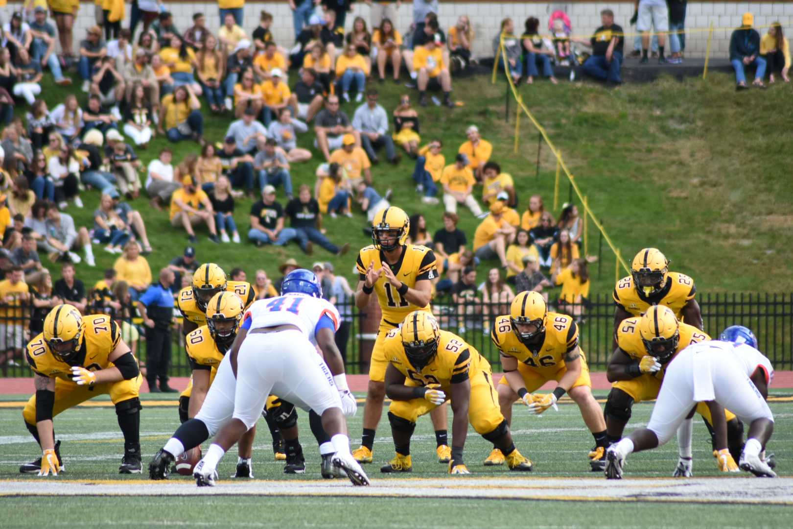 Game Day Grades: App State vs. Savannah State