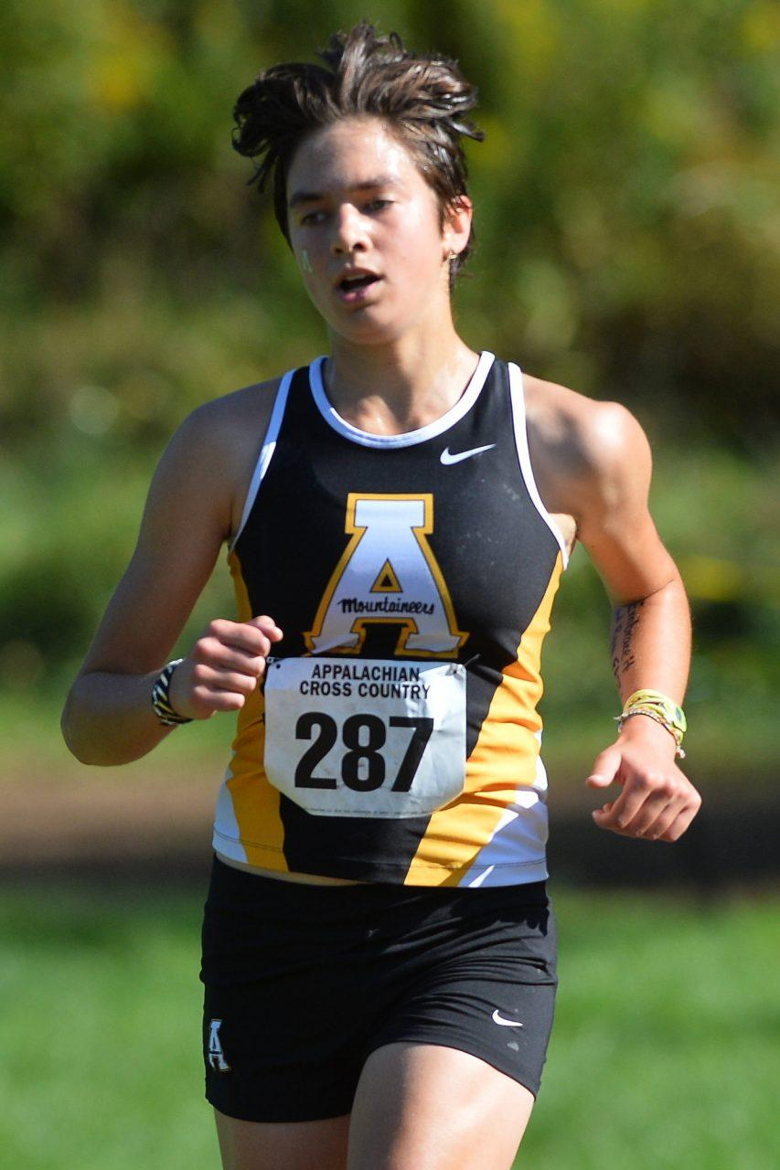 Appalachian State hosts the 2017 Mountains to Sea Duals cross country meet at the Don Kennedy Trails at State Farm on Saturday, September 16, 2017 in Boone, North Carolina.
