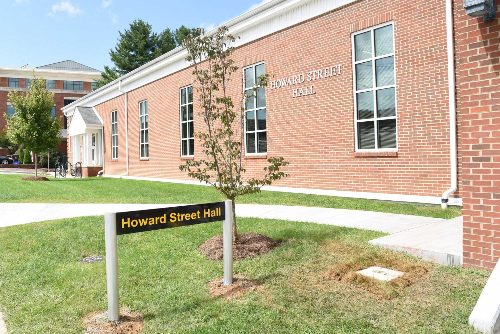 Howard Street Hall, located next to the College of Education building, was recently renovated and will hold classes for students.