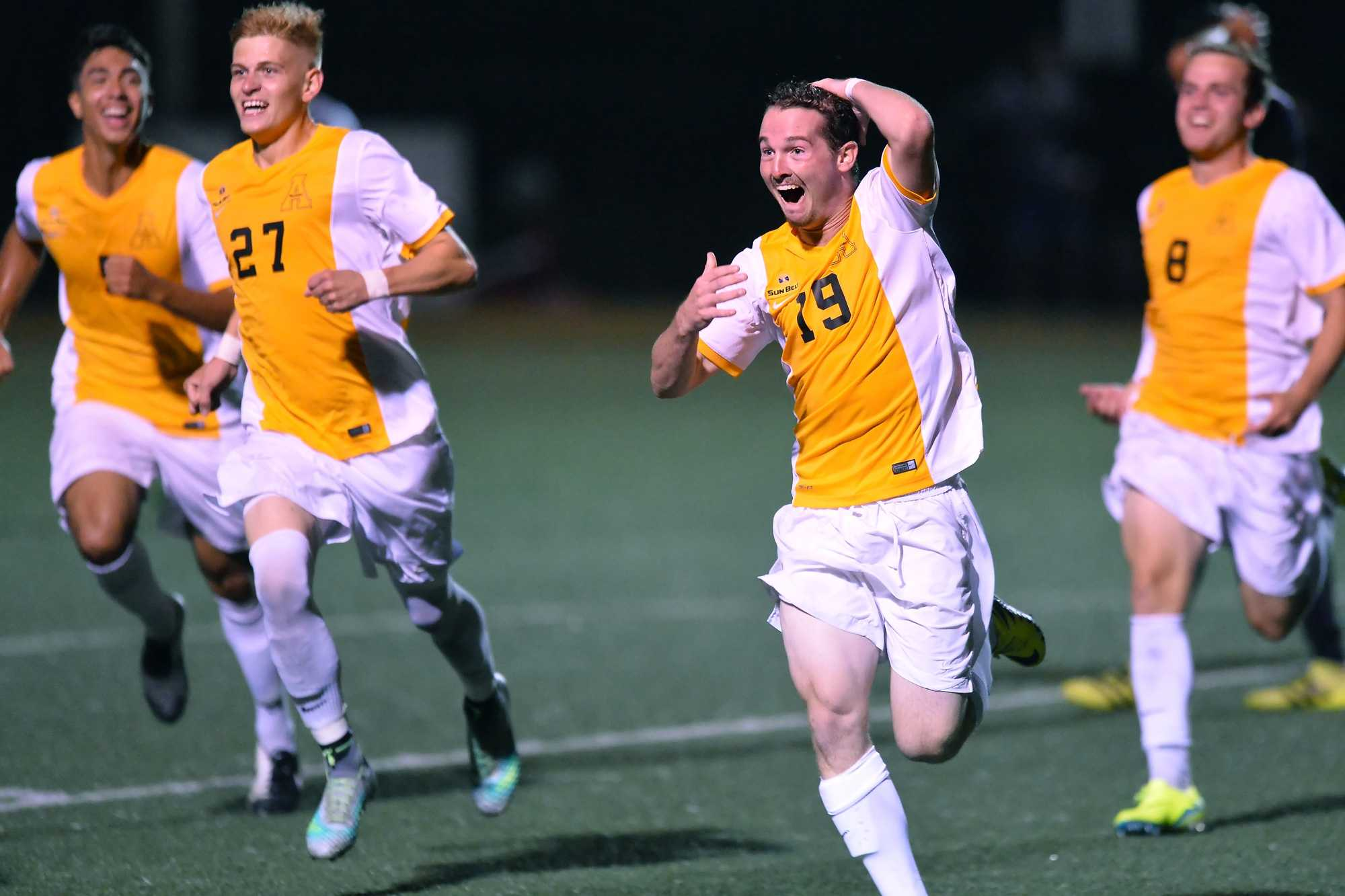 Midfield/forward Graham Smalley. Photo courtesy of Appalachian State Athletics/Tim Cowie.