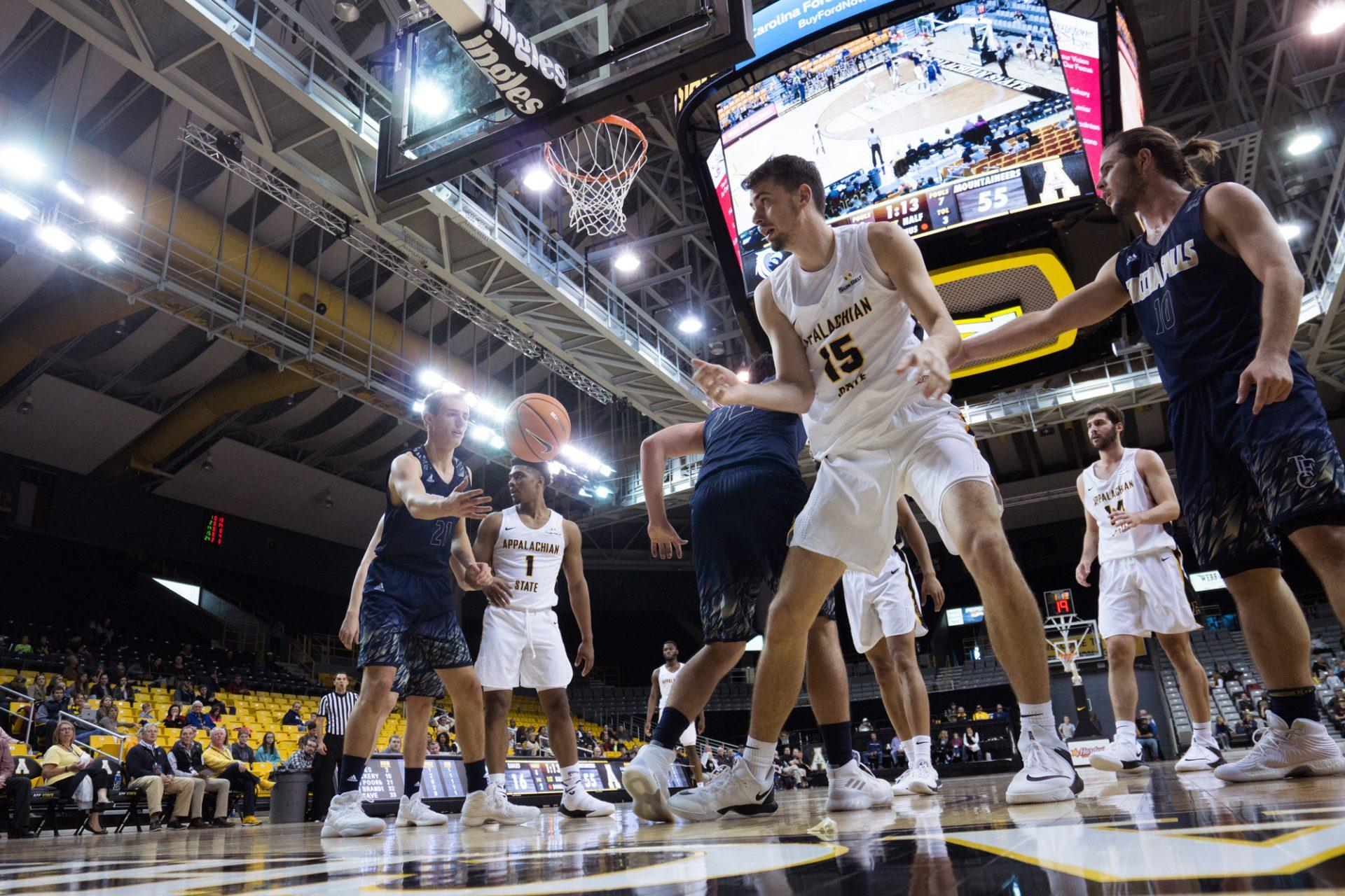 Hoops Grades: App State MBB vs. Toccoa Falls and Bridgewater College