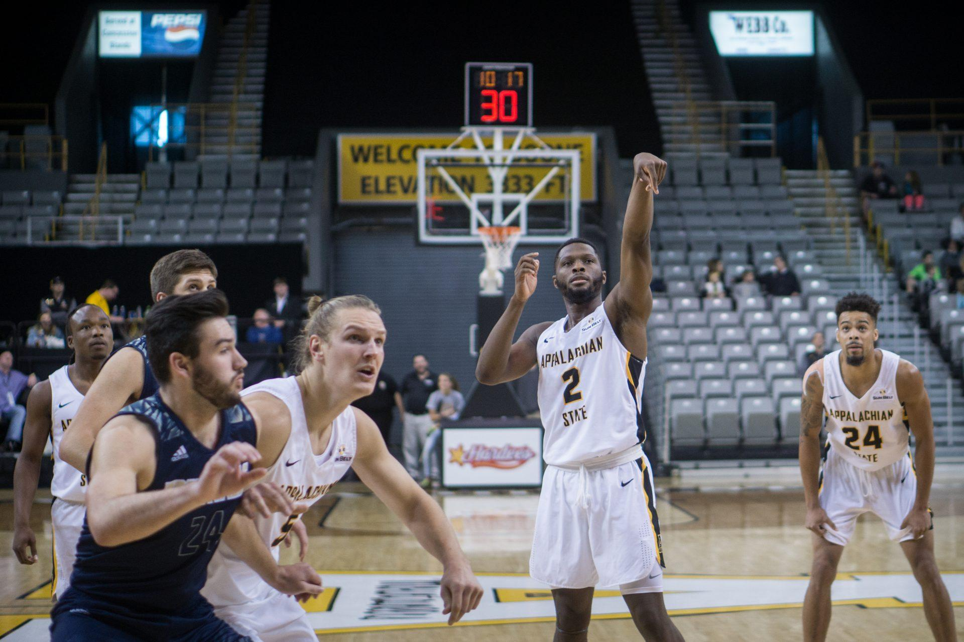 Record breaking weekend for App State men's basketball
