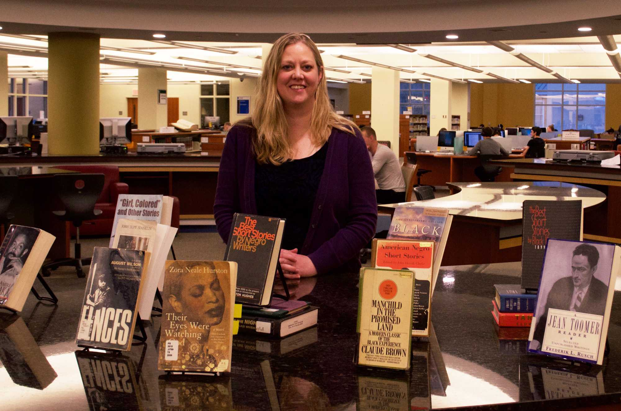 Belk Library holds first African-American read-in