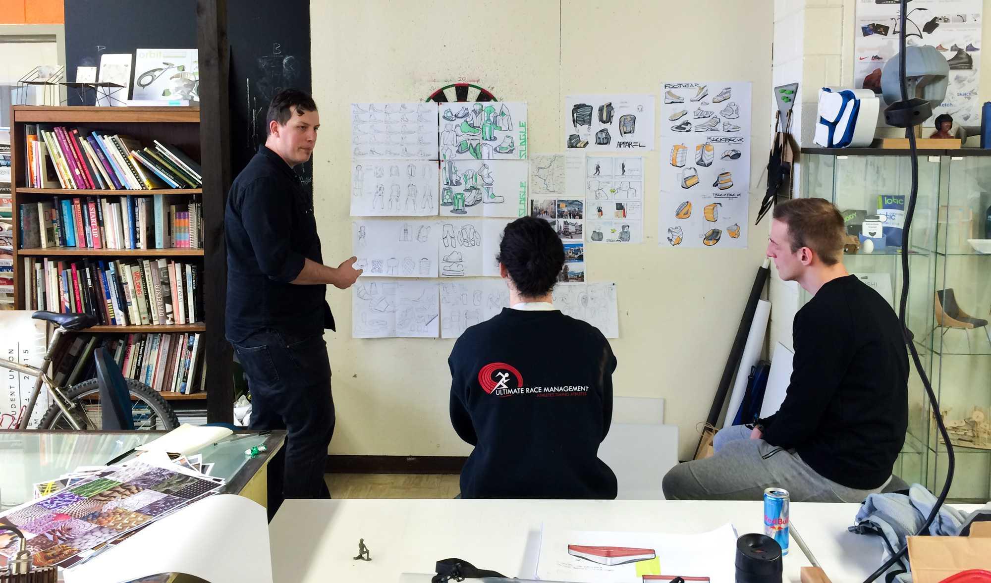 Industrial design's Reebok sponsored studio