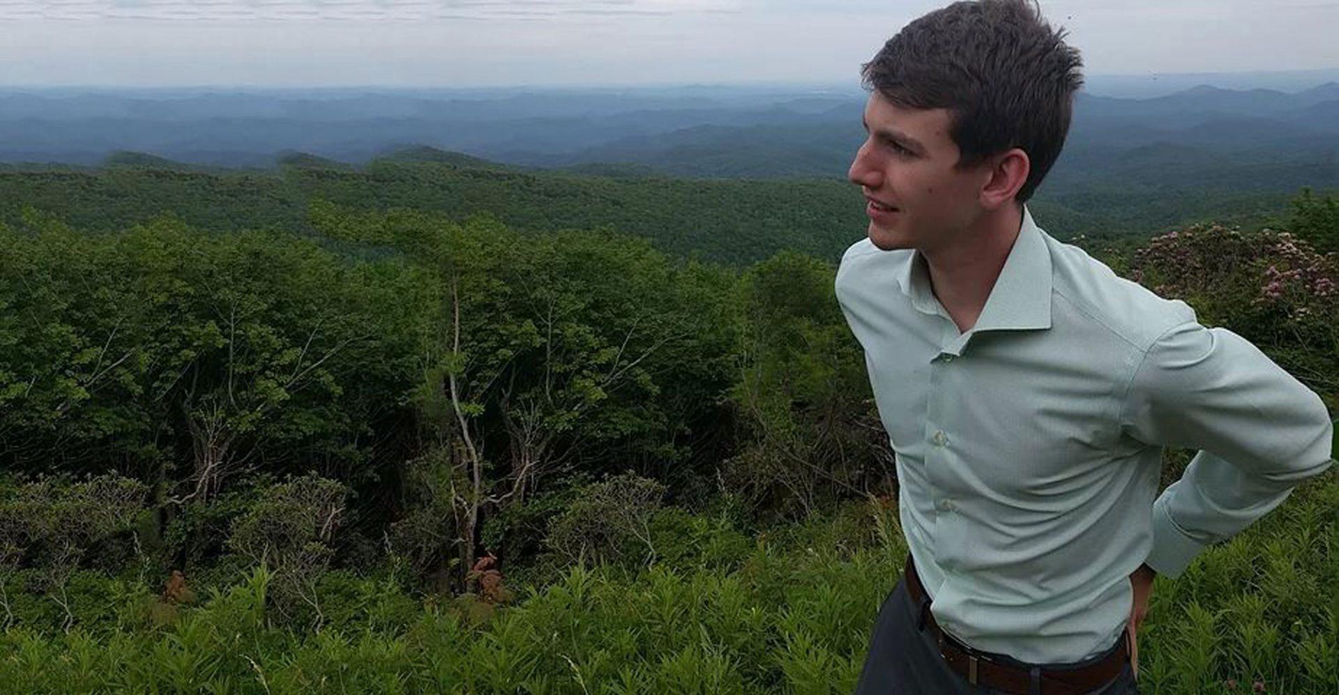 Appalachian student Robert Block running for local office