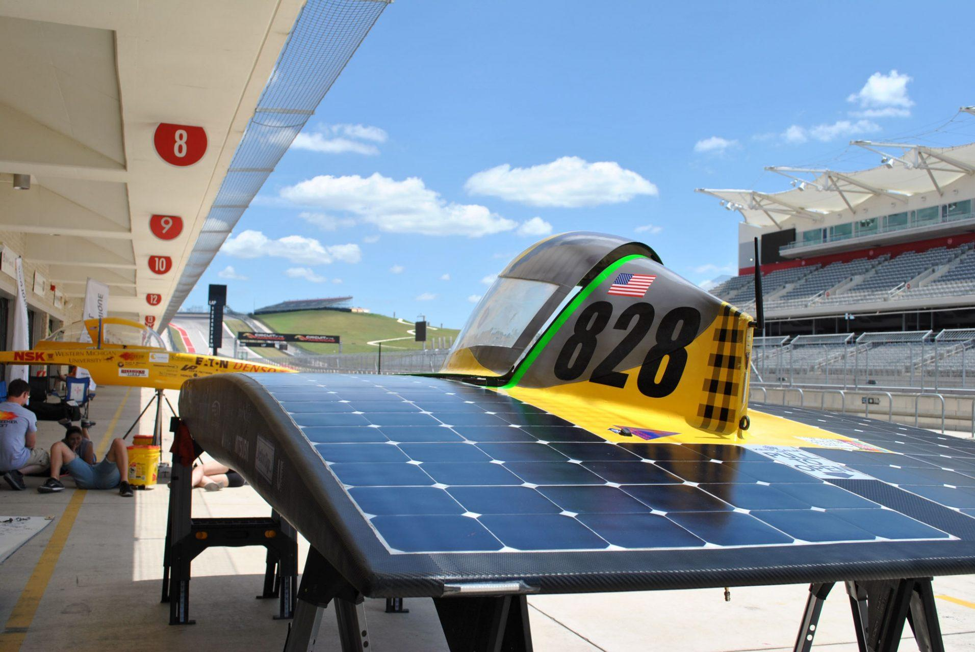 Team Sunergy races toward a sustainable future