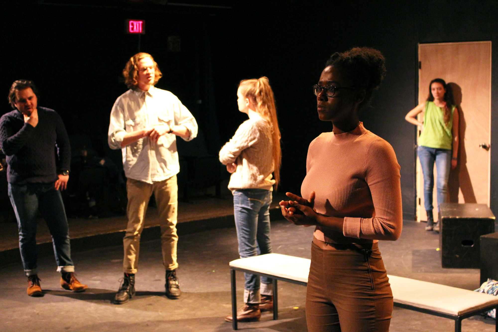 Women Inclusive Theatre Troupe presents former student's play