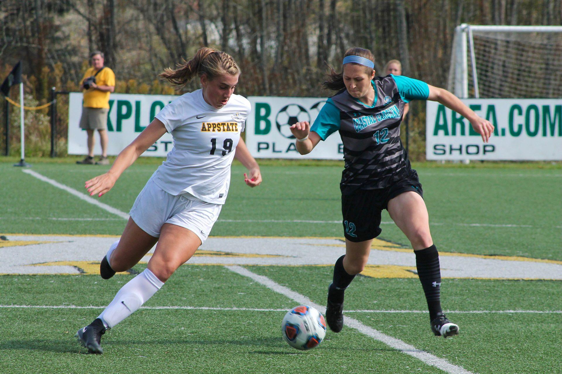App State women's soccer hitting its stride right in time for conference tournament
