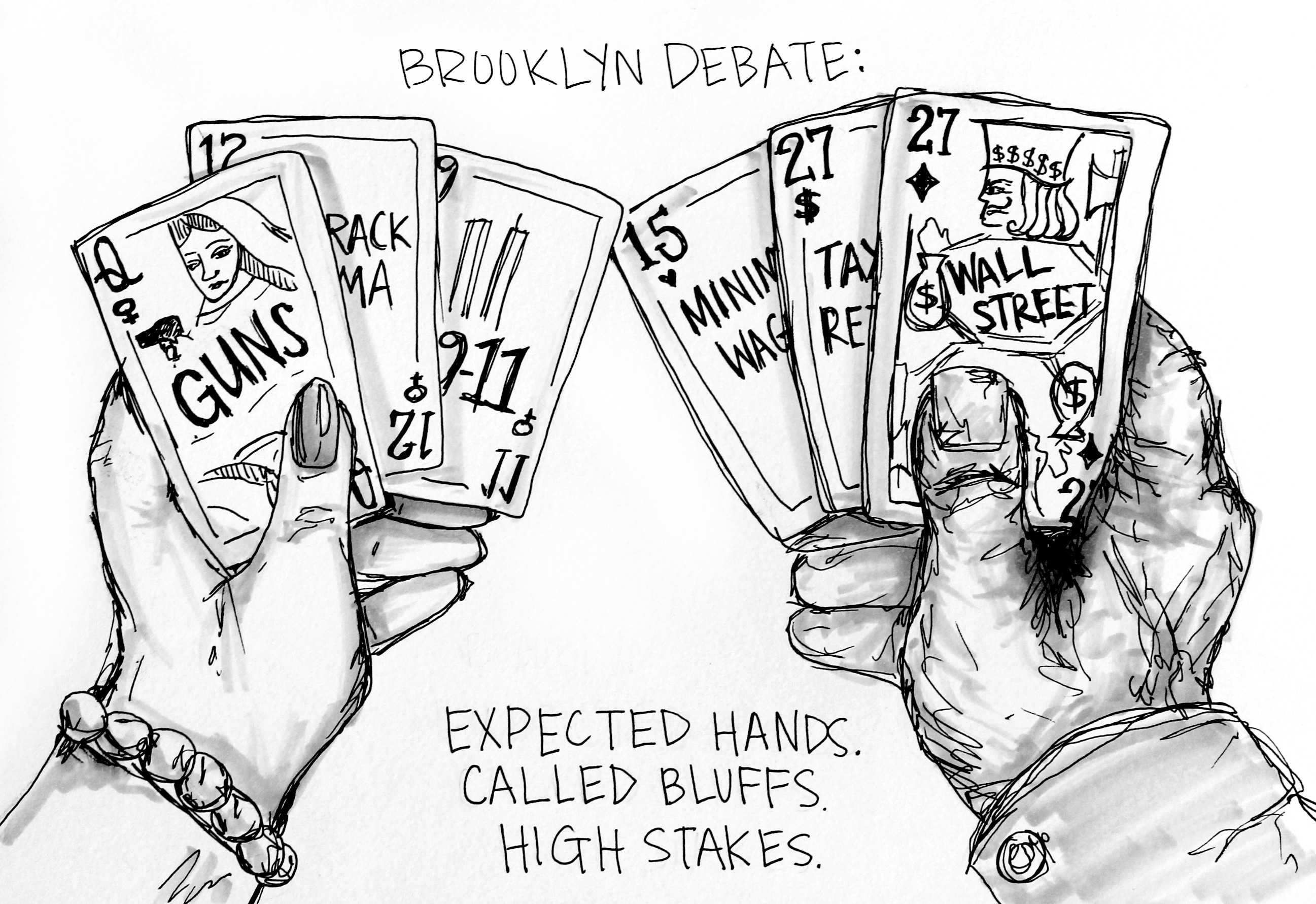 Cartoon: The Brooklyn Debate
