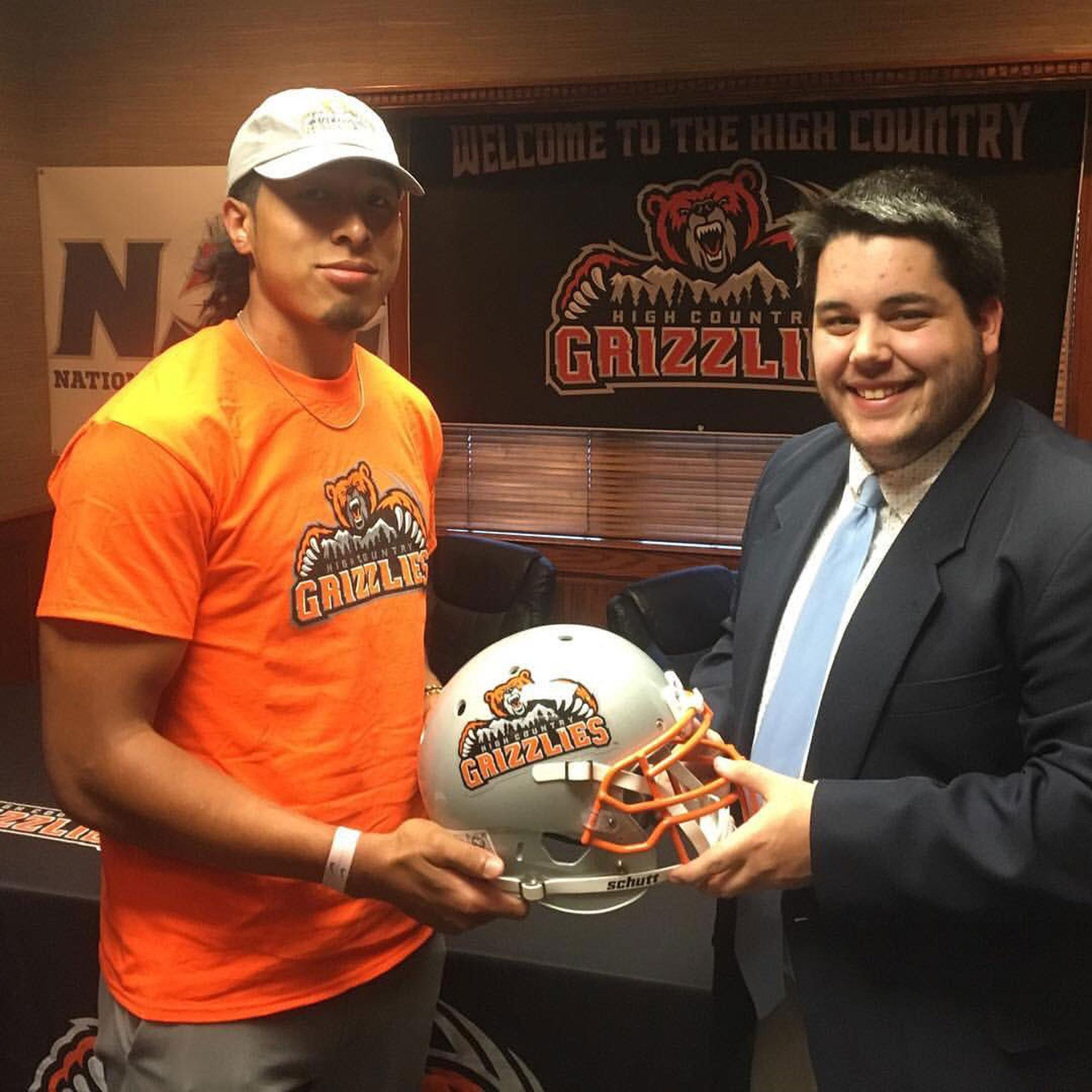 Former+receiver+Malachi+Jones+is+now+a+player+for+the+the+High+Country+Grizzlies%2C+a+team+included+in+the+Arena+Developmental+League.