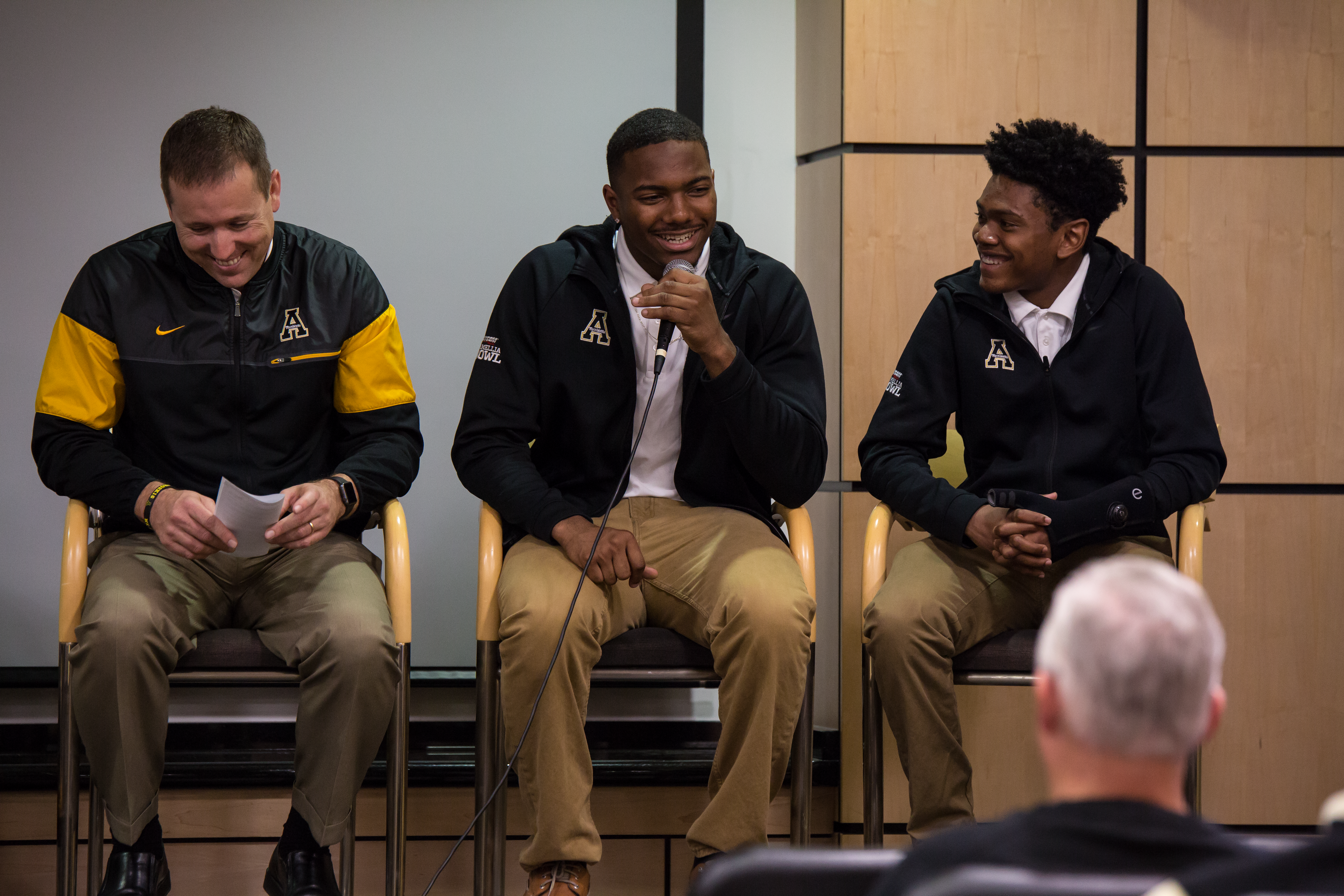 Character plays key role in App's signing day