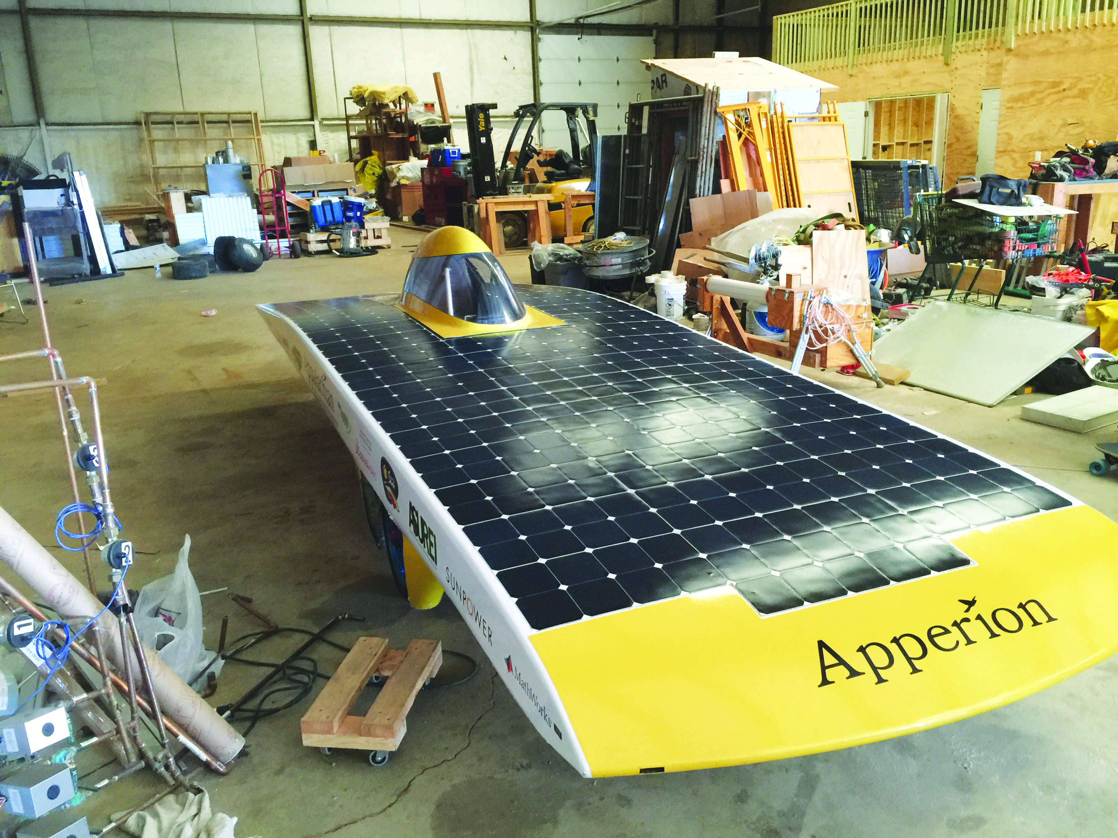 Show devotion to sustainability with solar car support