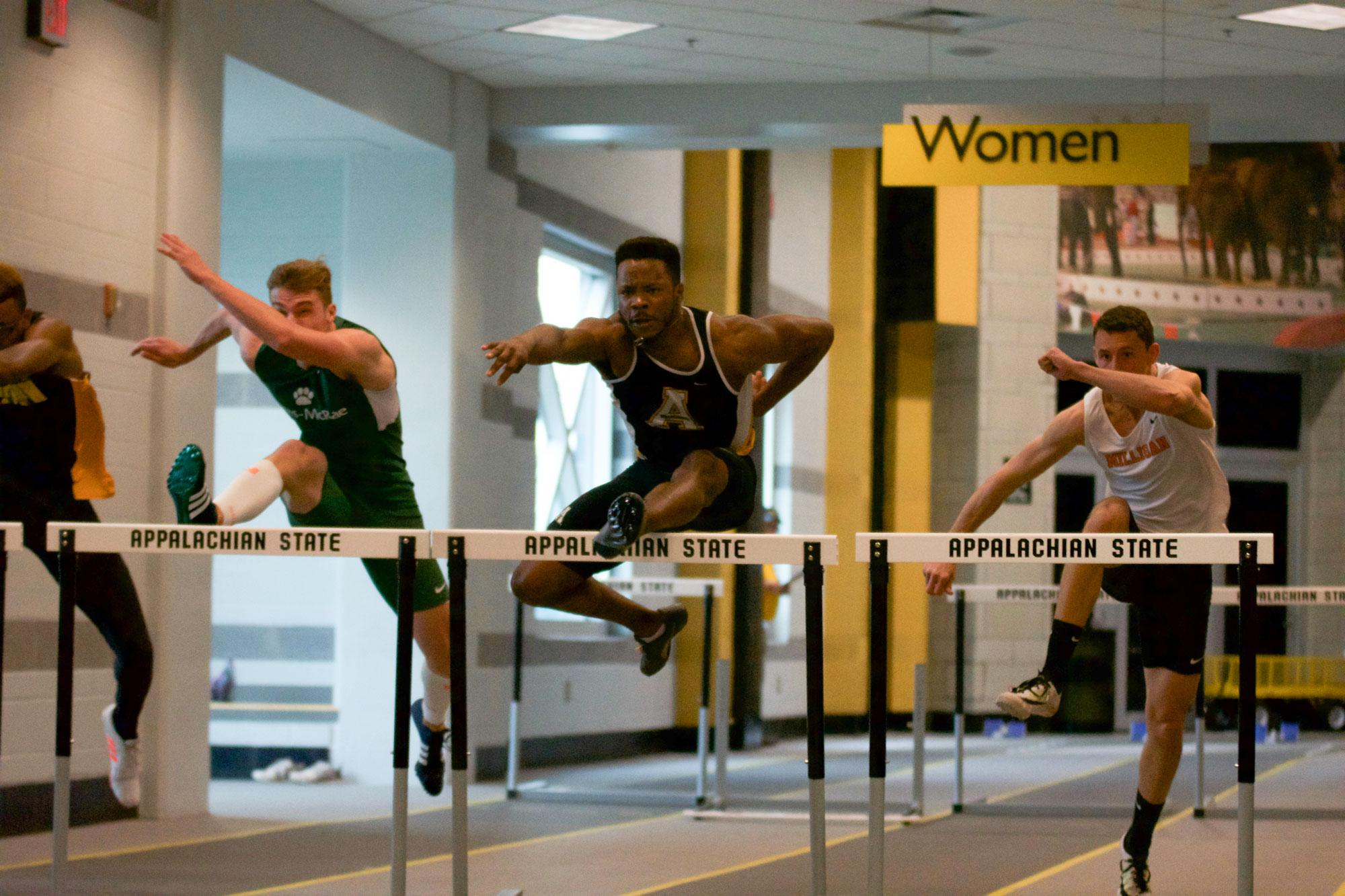 Led by veterans, men's track and field hoping to improve