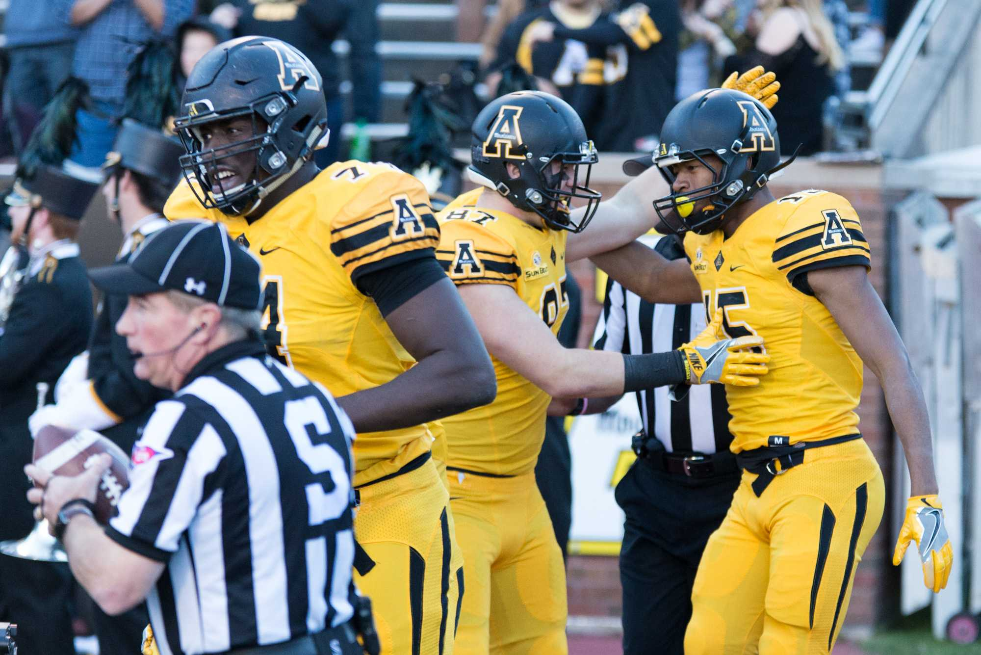 App State announces three-game football series with UNC