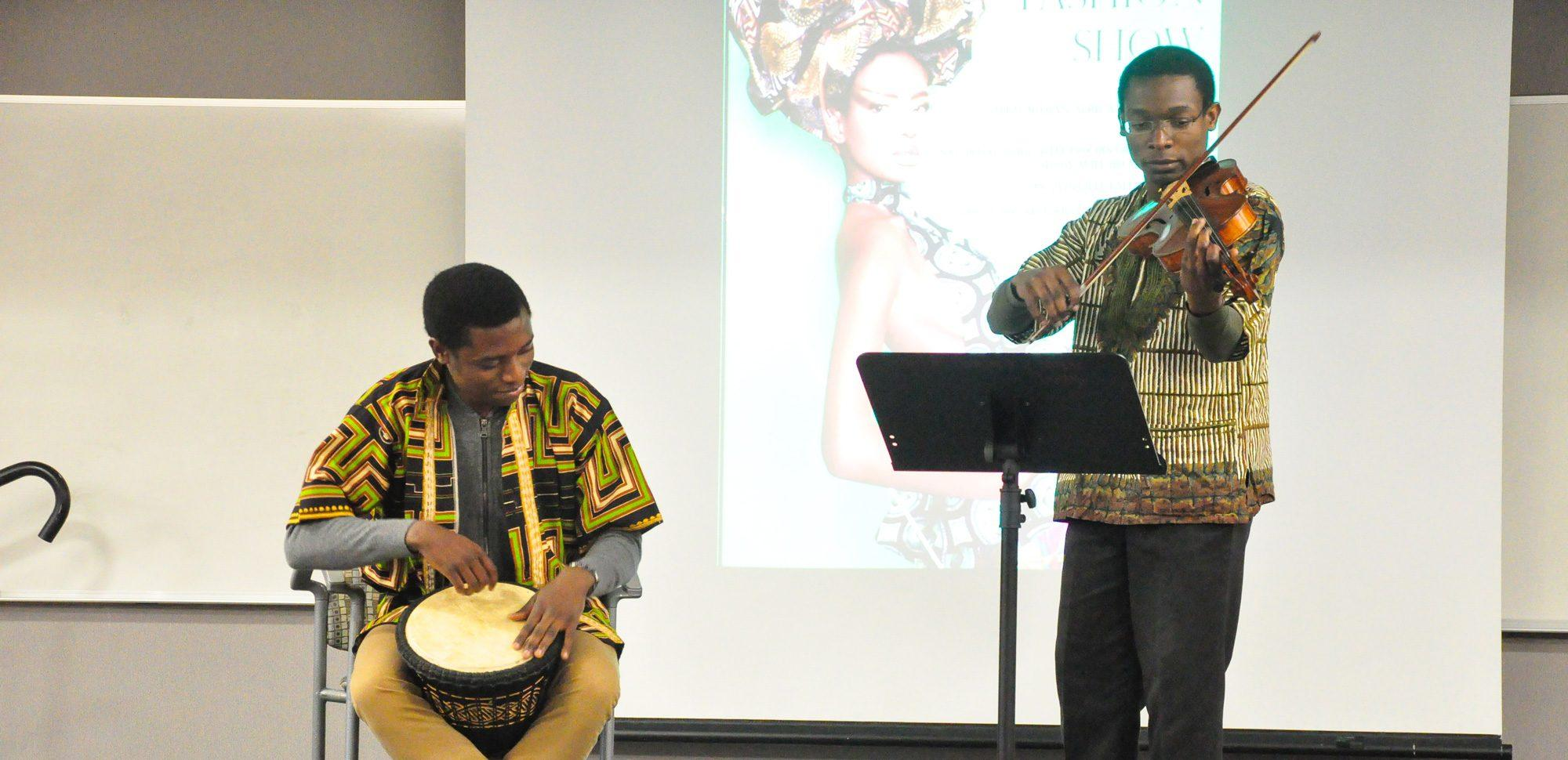 The Appalachian State African fashion show