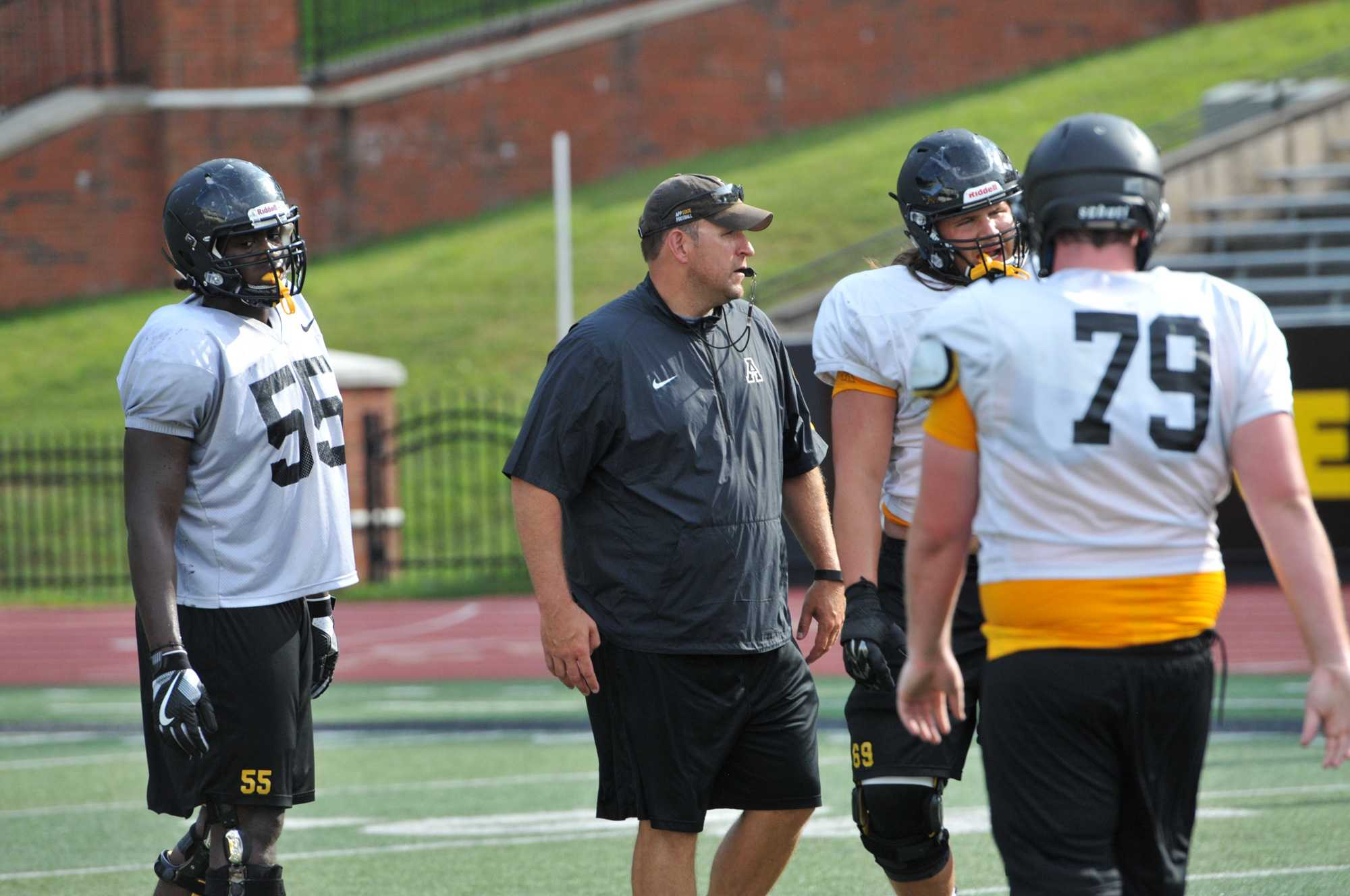 Co-Offensive+Coordinator+%28Running+Game%29%2FOffensive+Line+Shawn+Clark.+Photo+courtesy+of+App+State+Athletics
