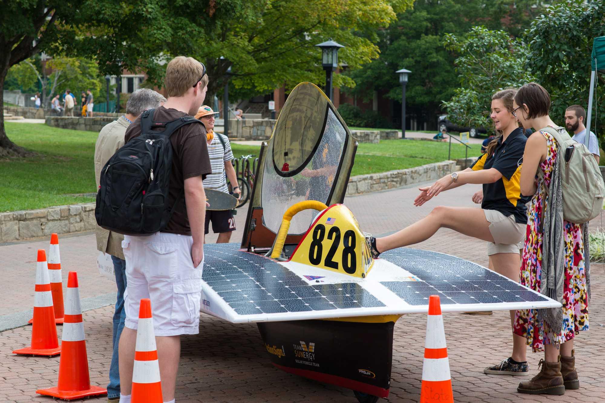 Team Sunergy races toward sustainability