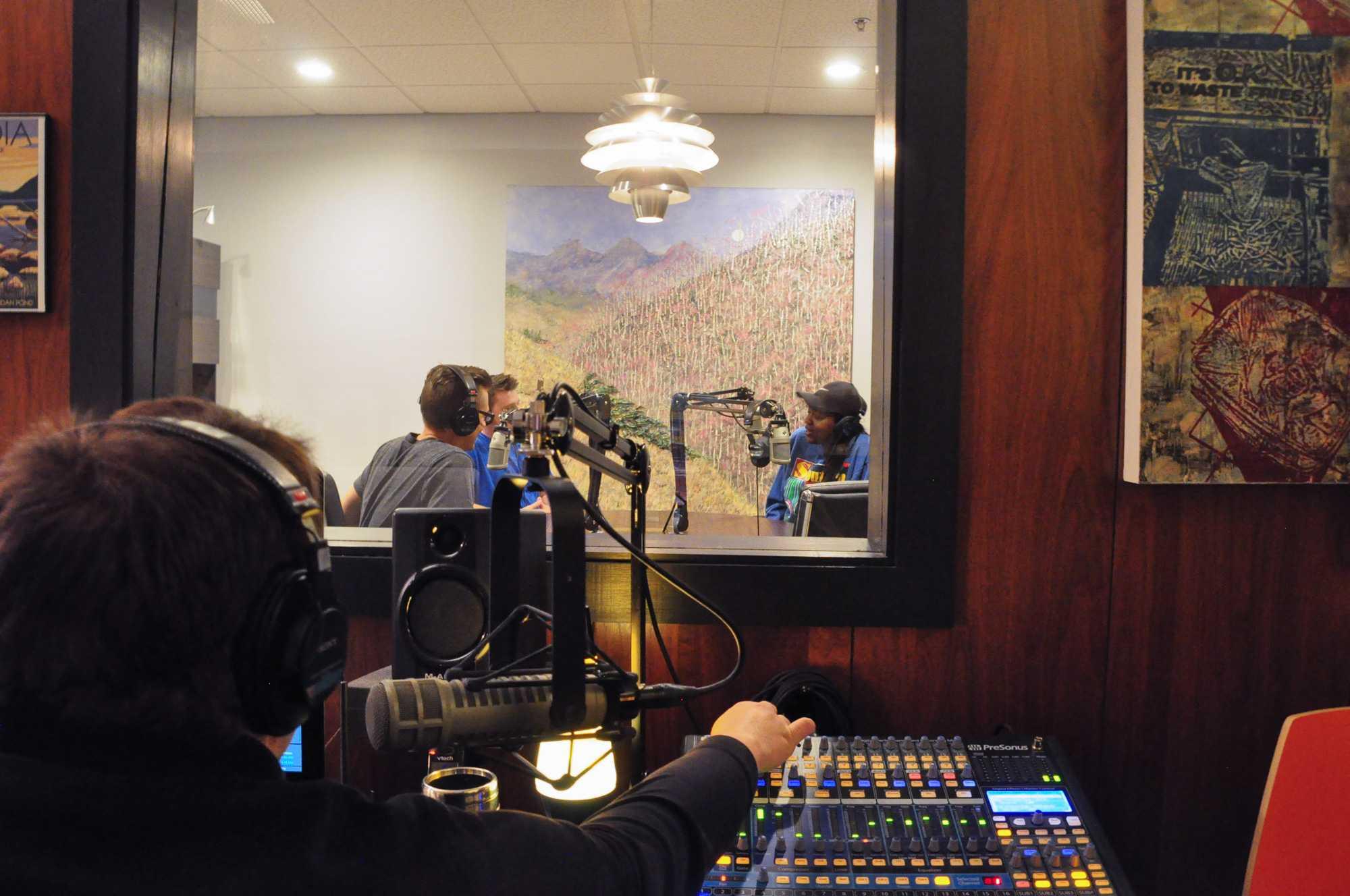 University podcast program goes far on limited budget