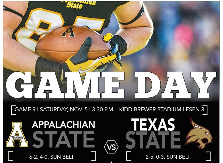 Game Day: App State vs Texas State