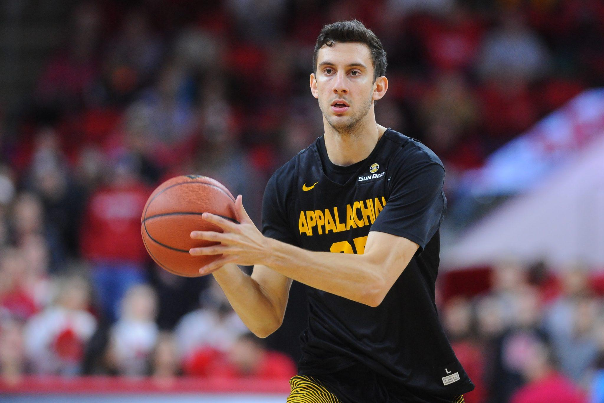 Appalachian State takes on NC State in non-conference men's basketball action at PNC Arena on Thursday, December 15, 2016 in Raleigh, North Carolina. Photo courtesy: App State Athletics/Tim Cowie