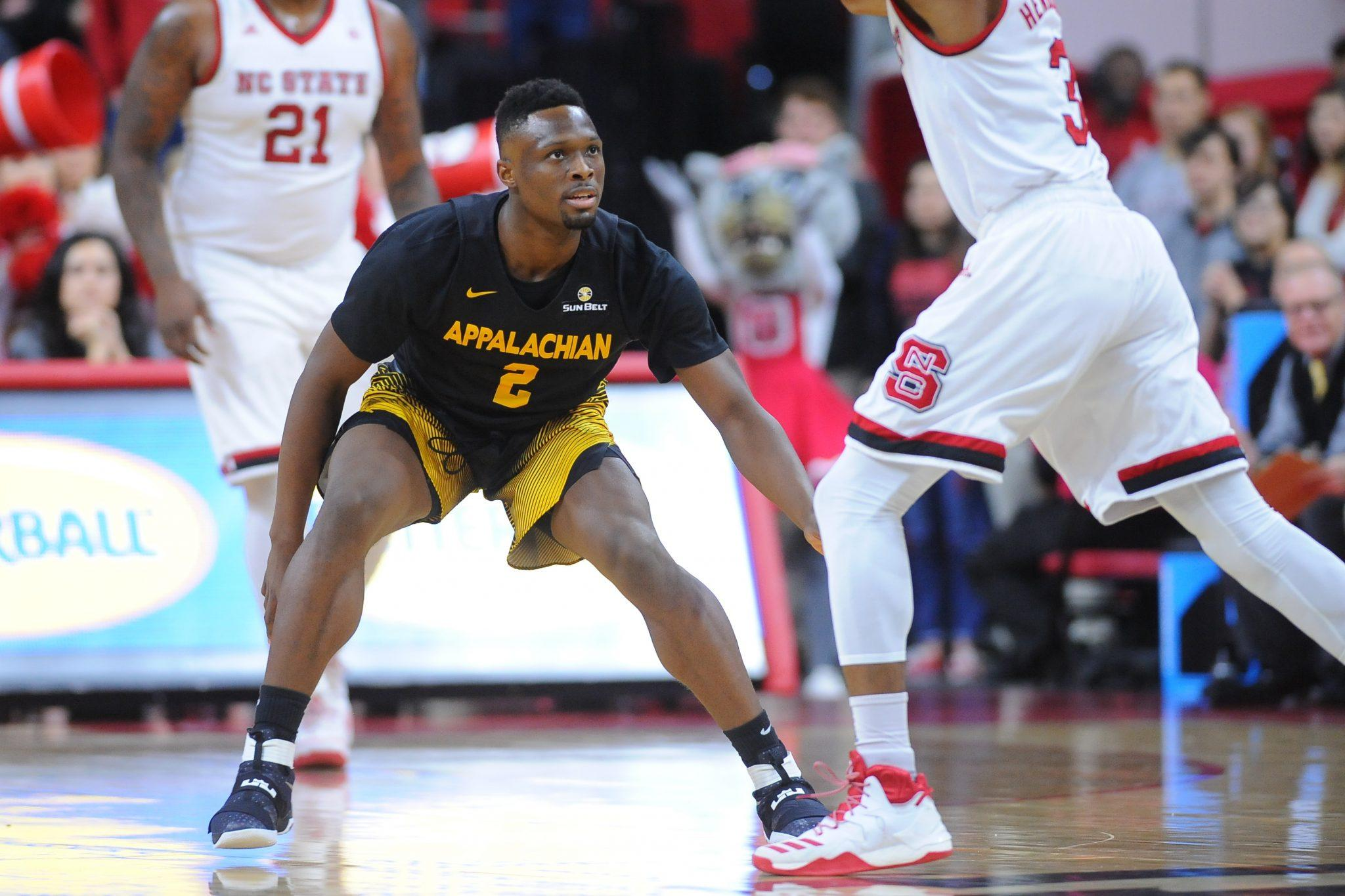 Appalachian State takes on NC State in non-conference men's basketball action at PNC Arena on Thursday, December 15, 2016 in Raleigh, North Carolina. Photo courtesy: App State Athletic/ Tim Cowie