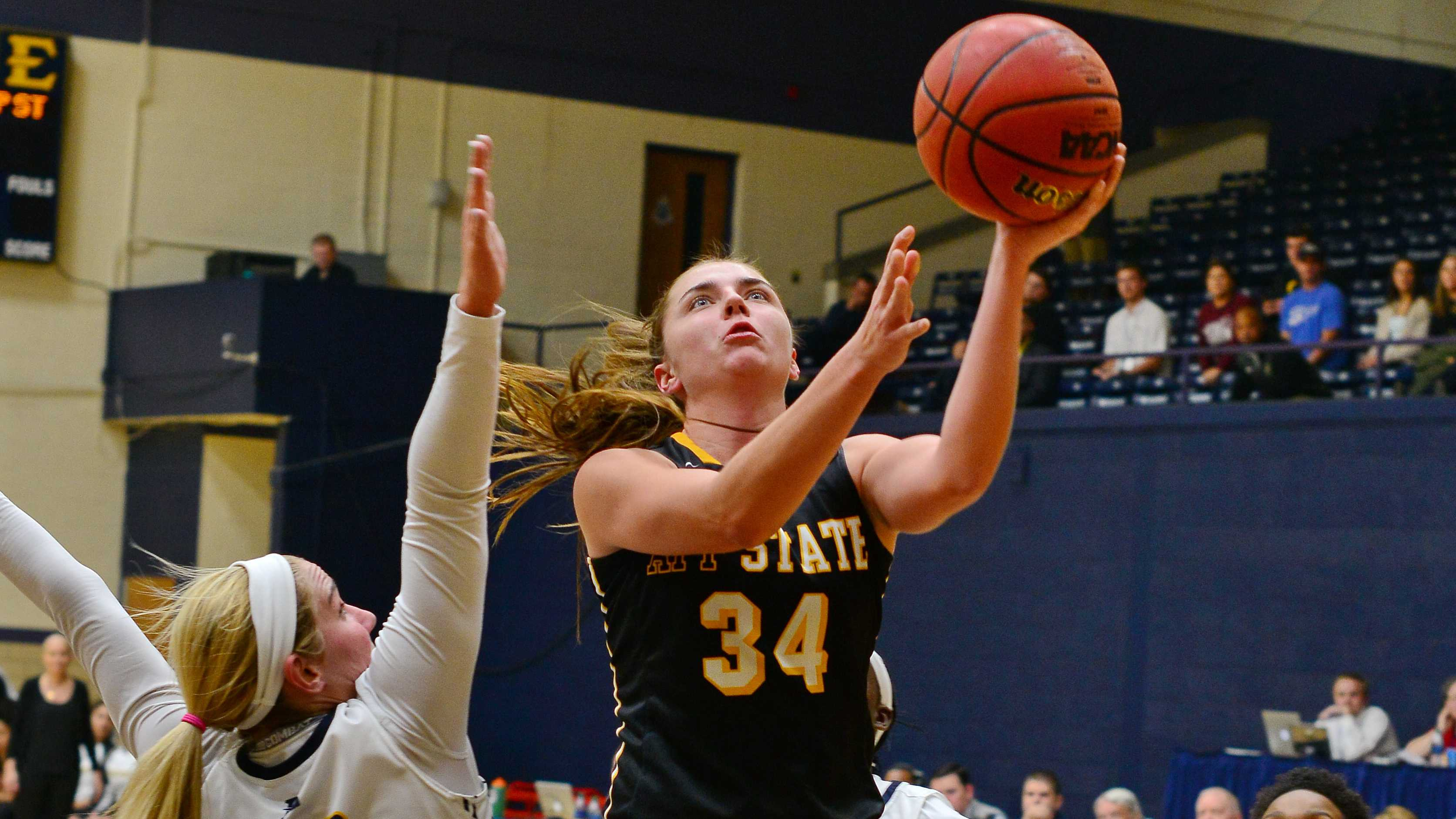 Story scored 31 points tying her career high. Photo courtesy: App State Athletics/Diana Gates
