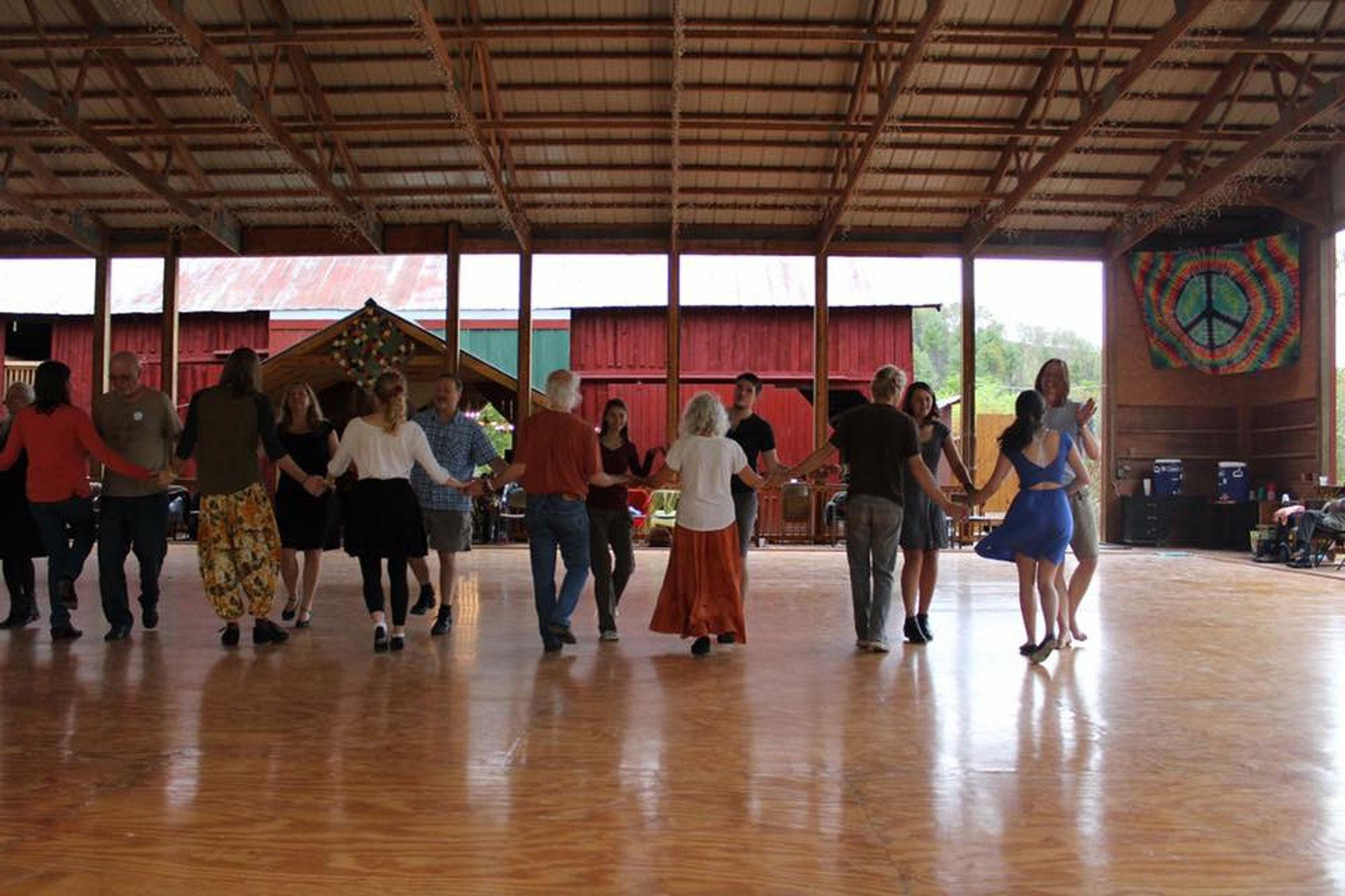 What is contra dancing?