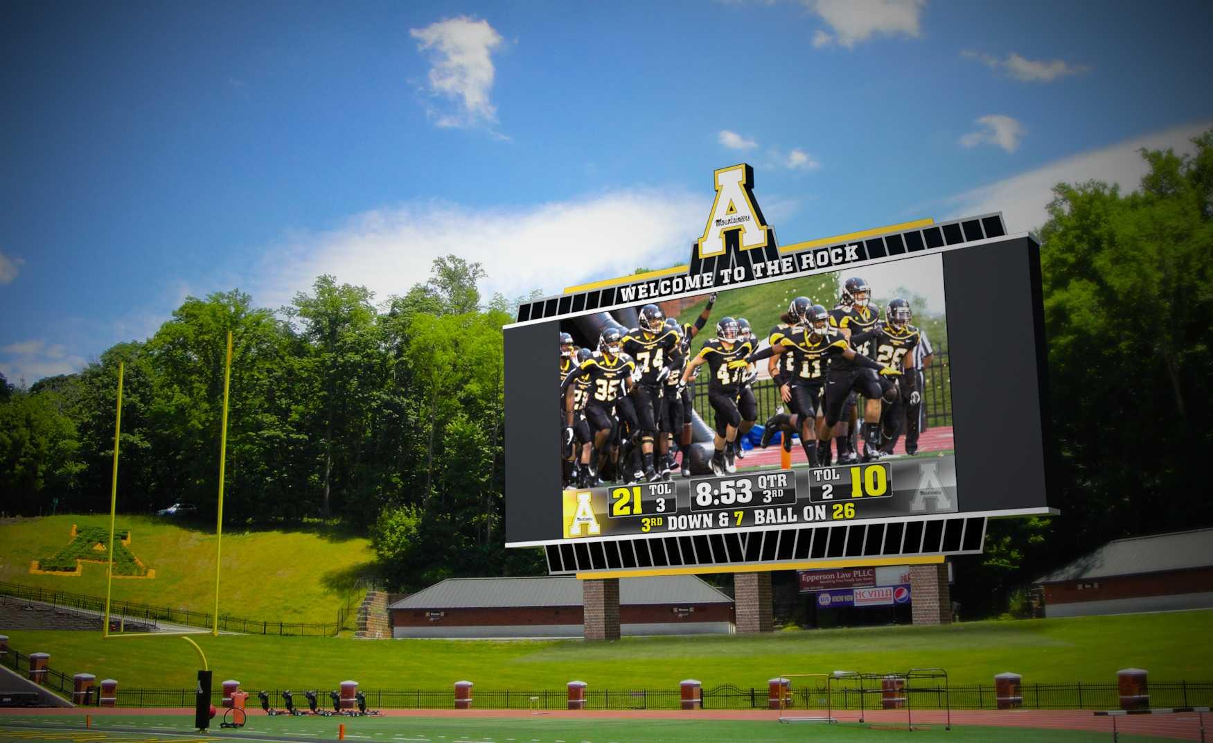 App State athletics unveils $60 million renovation plan