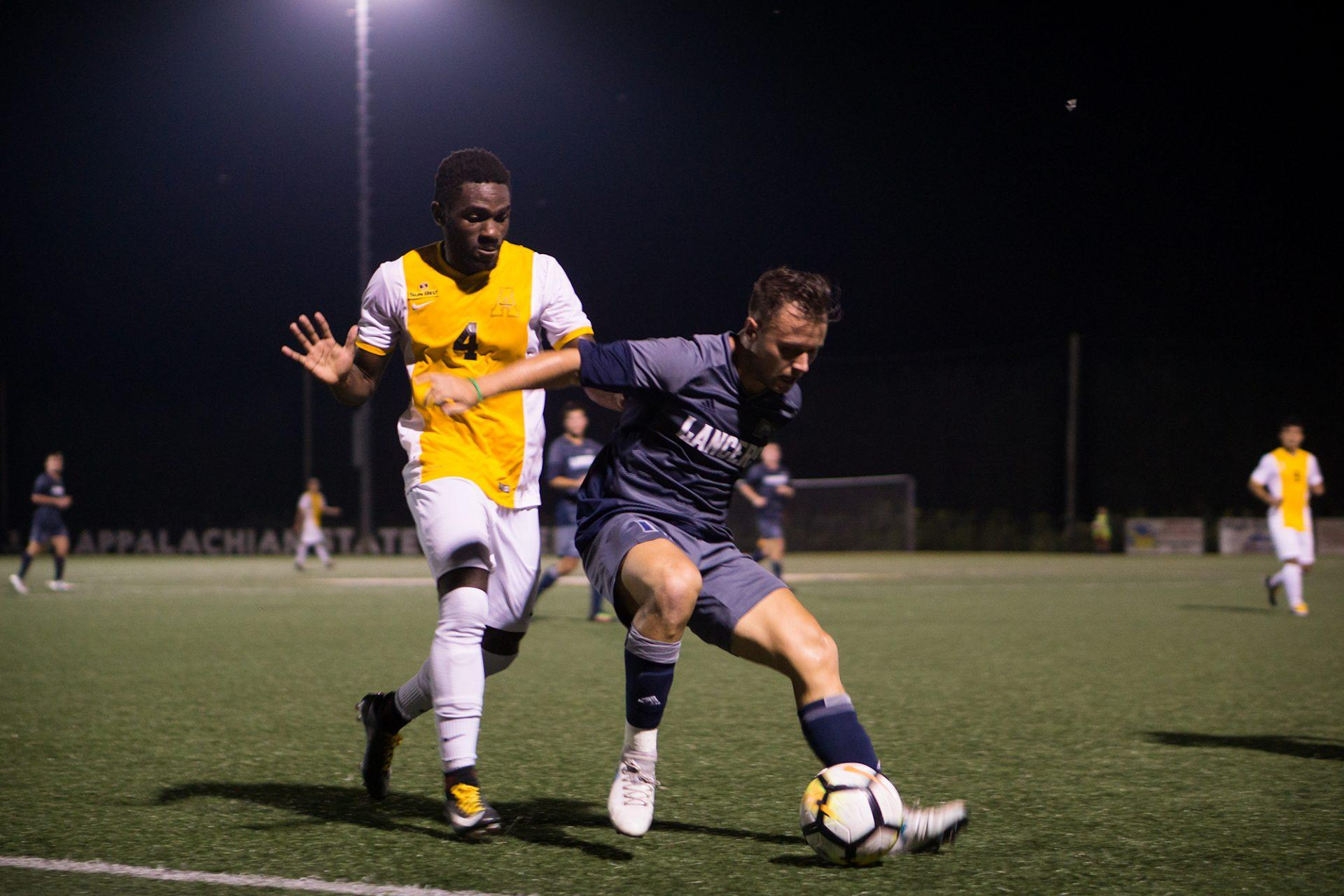 Chasteen and the Mountaineers get first shutout of the season