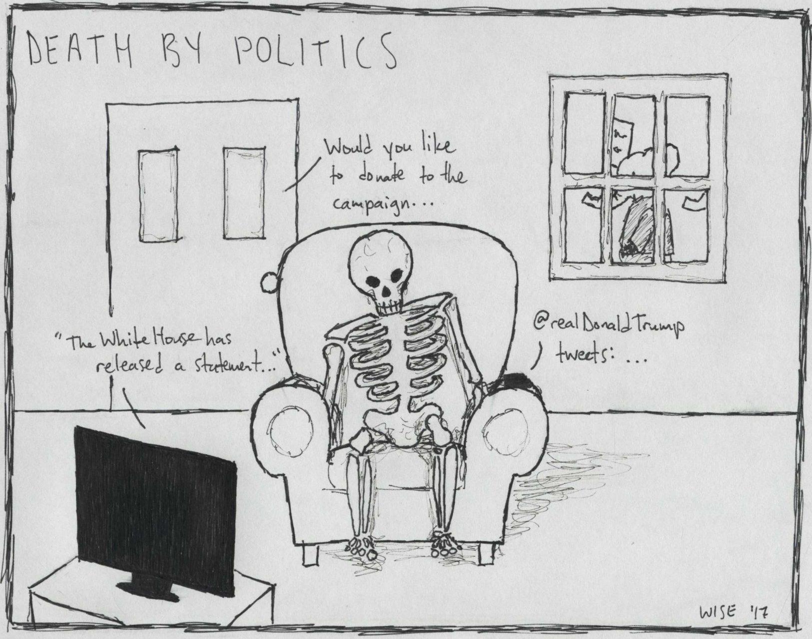Negative news causes political fatigue