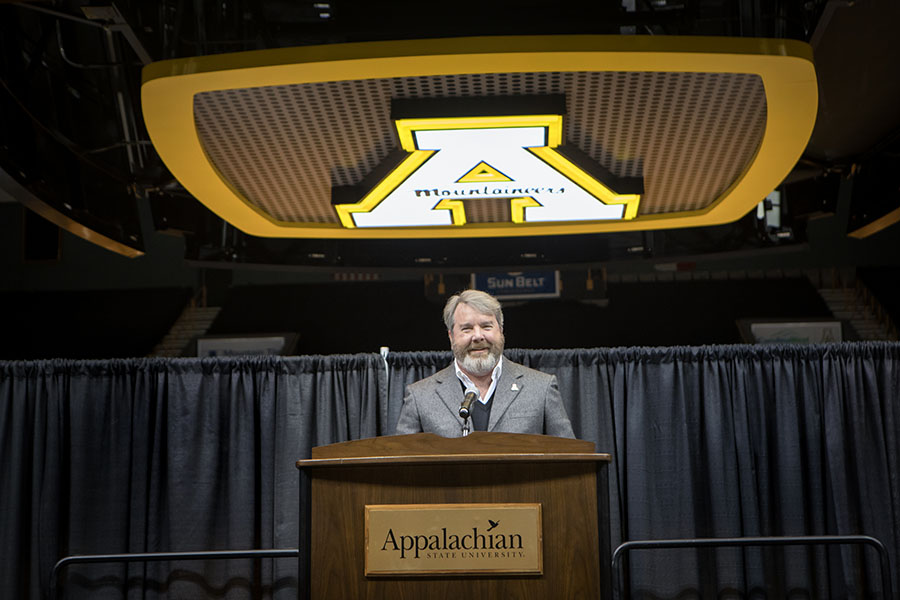 Alumnus+Mark+Ricks+donates+%2410+million+to+App+State+Athletics