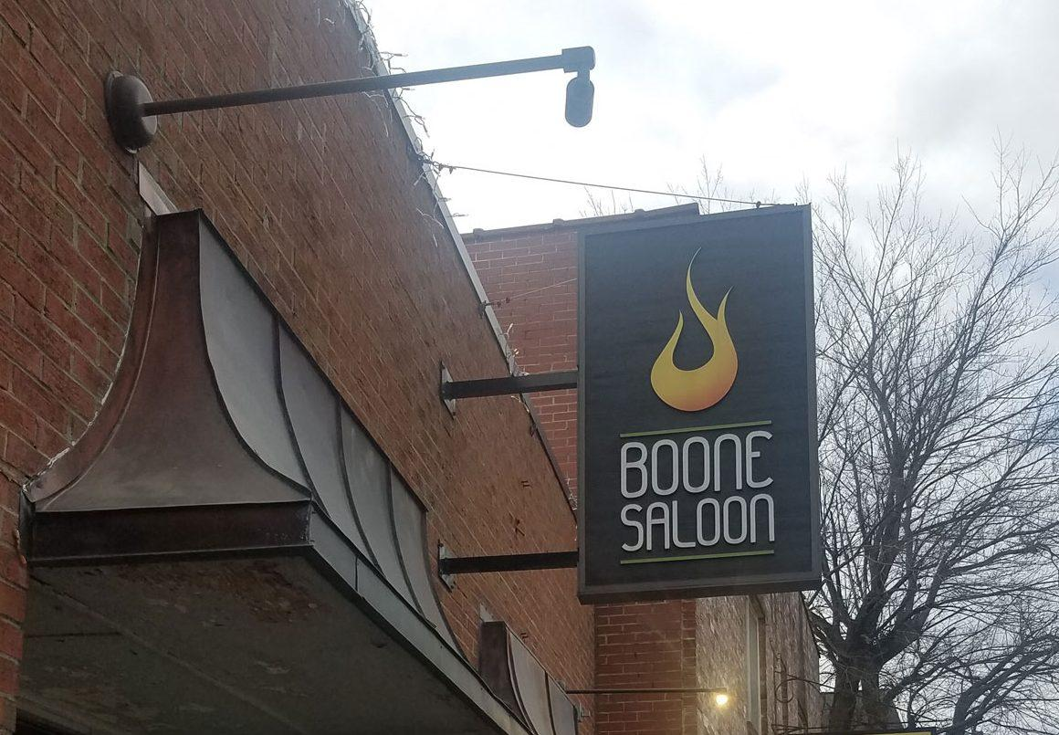 Boone+Saloon+is+open+to+people+under+21+during+the+day+but+at+night+even+if+there+is+a+concert+people+under+21+are+not+allowed+to+watch+the+show.+