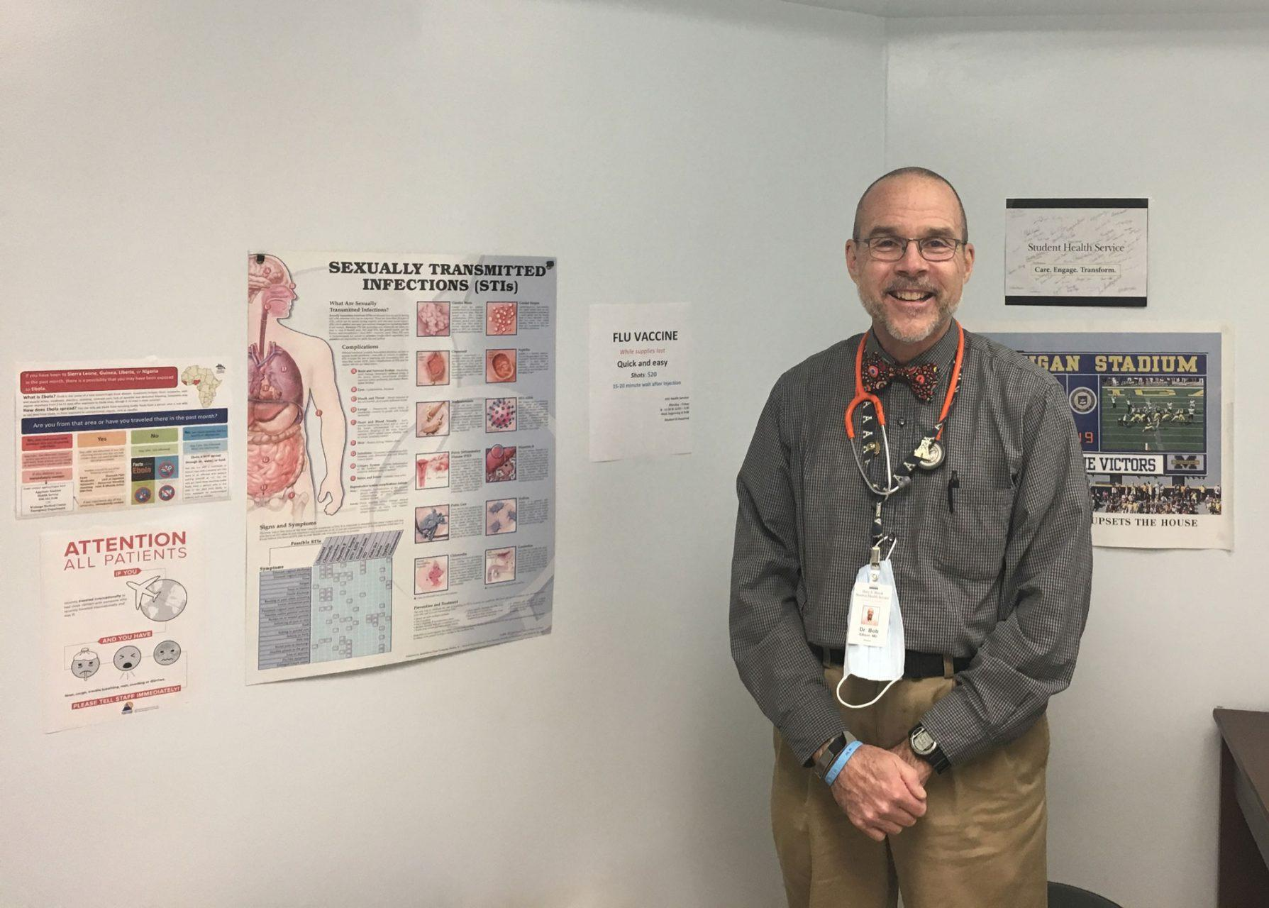 Health Services director steps down, looks forward to fresh ideas