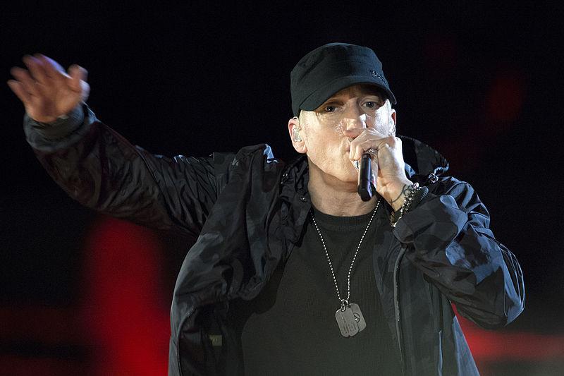 Eminem remains on top
