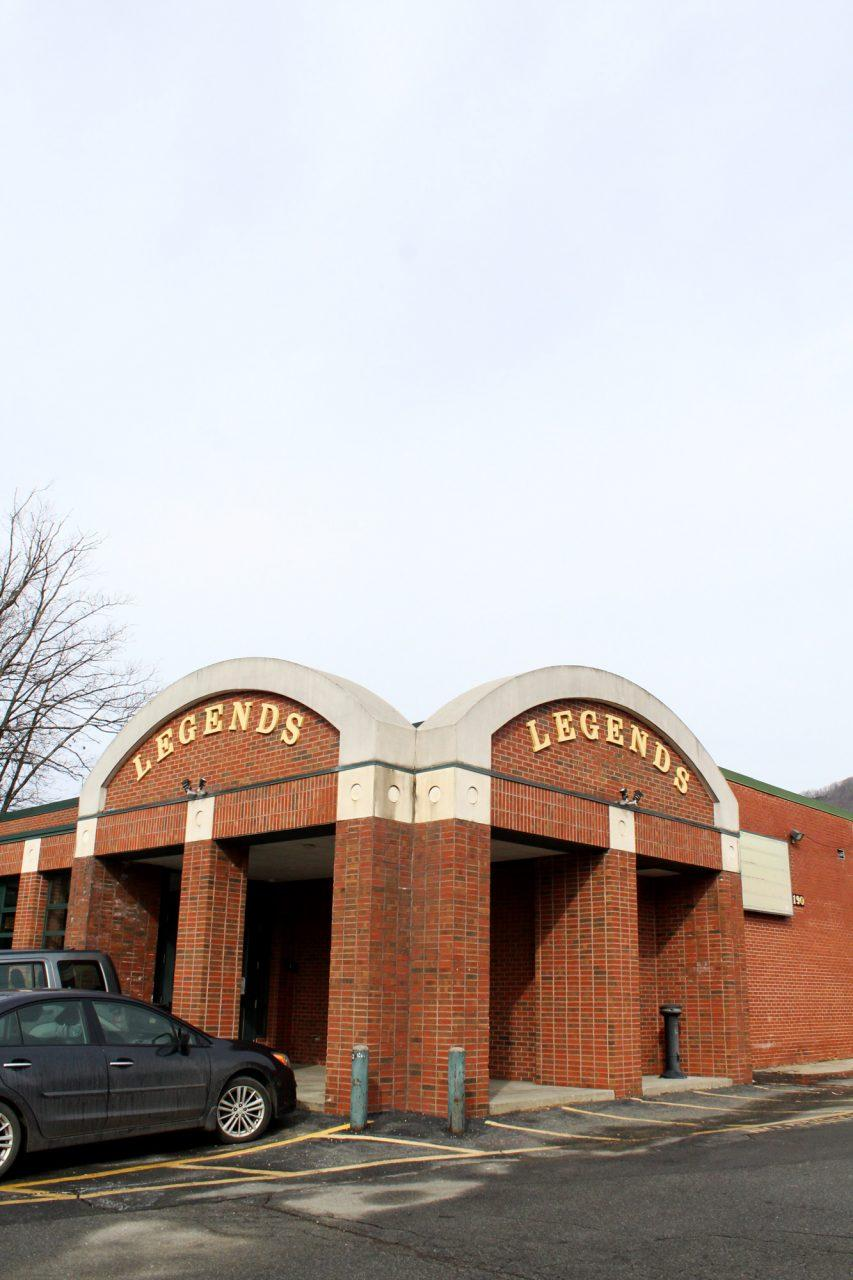 The+popular+music+venue+on+campus%2C+Legends%2C+is+opening+back+up+in+February.+The+building+is+located+next+to+Hoey+Hall+on+Blowing+Rock+road.
