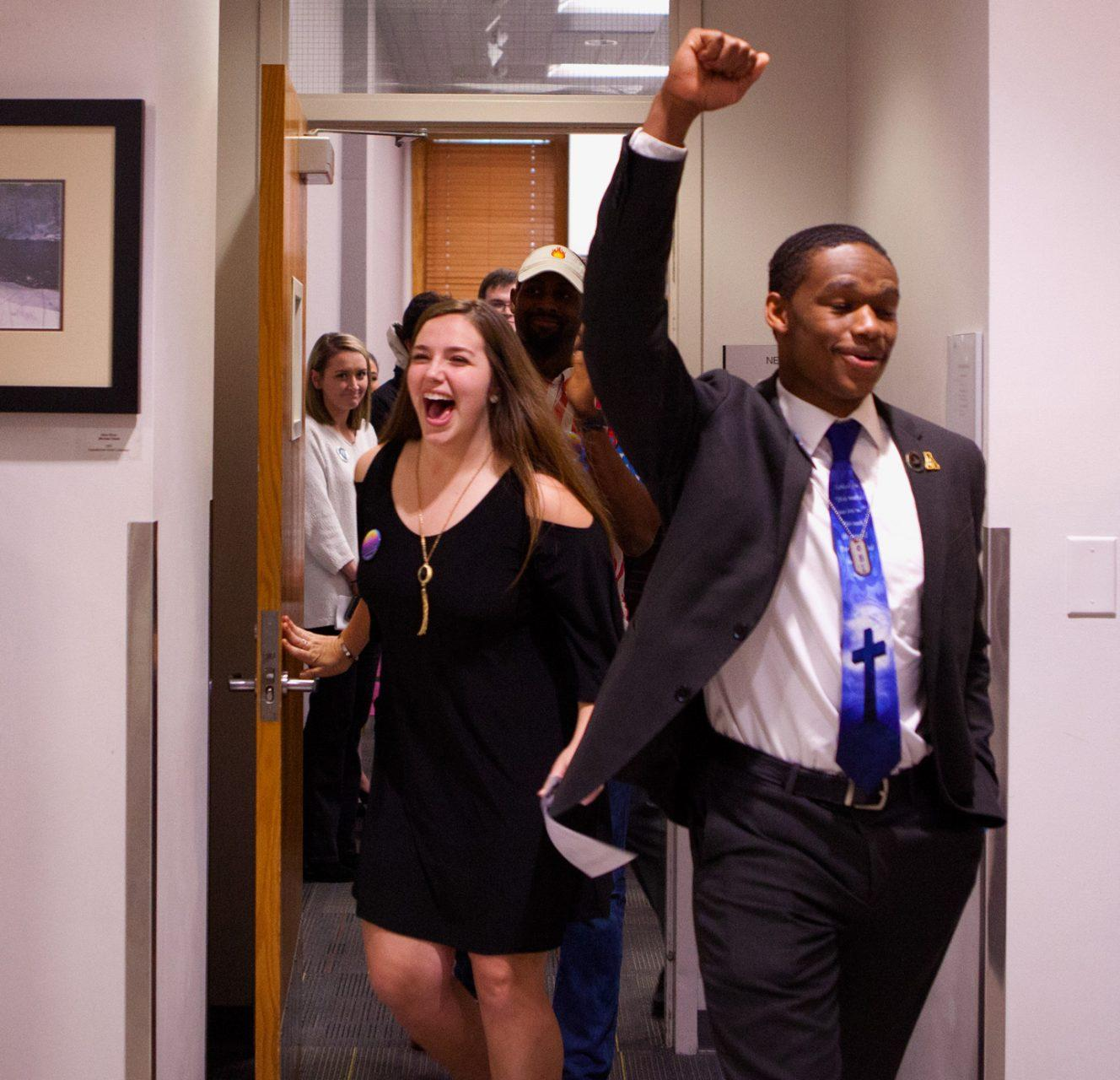 Milbourne/Kelly wins 2018 SGA Election