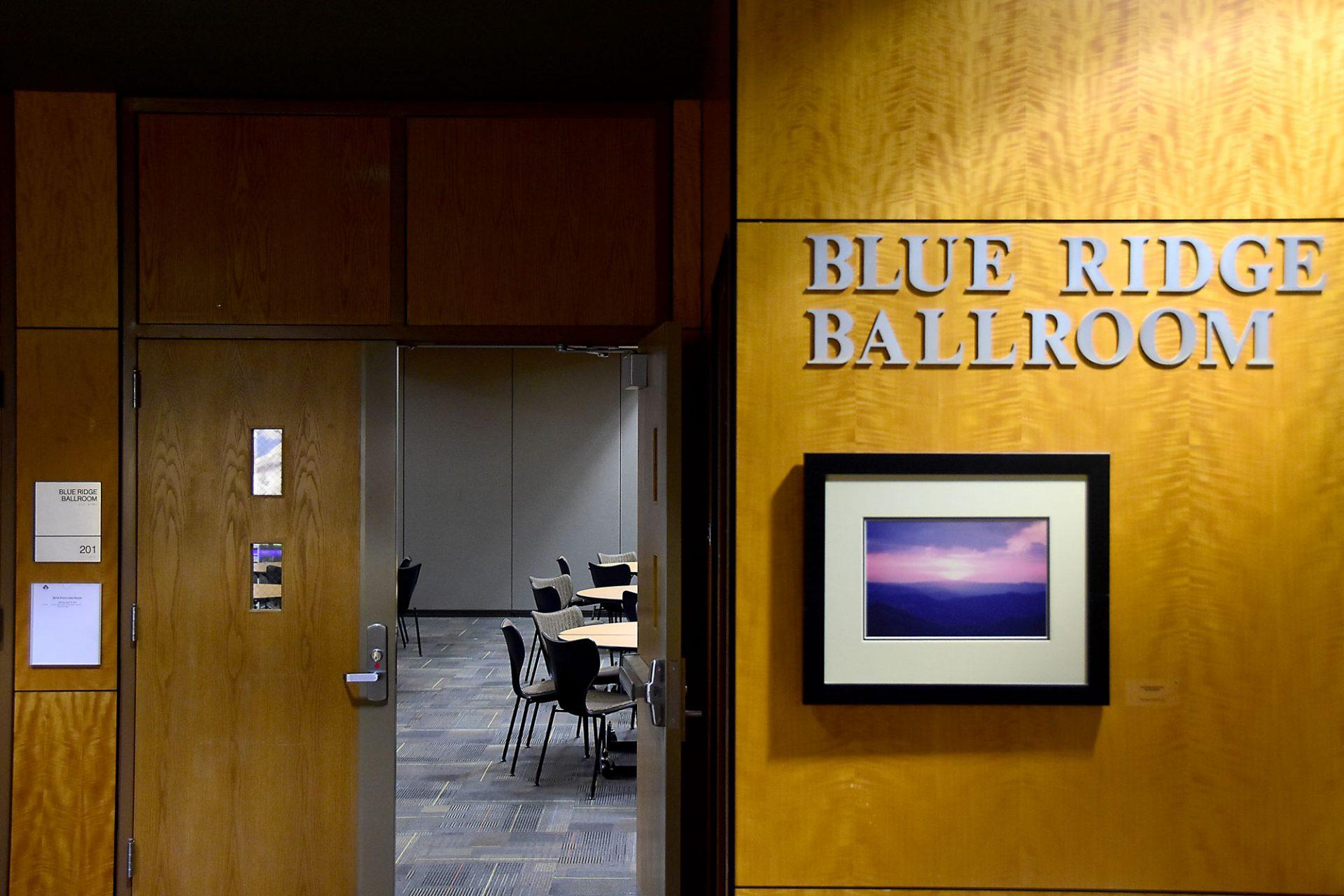 Faculty Senate recommends Blue Ridge Ballroom as on-campus voting site