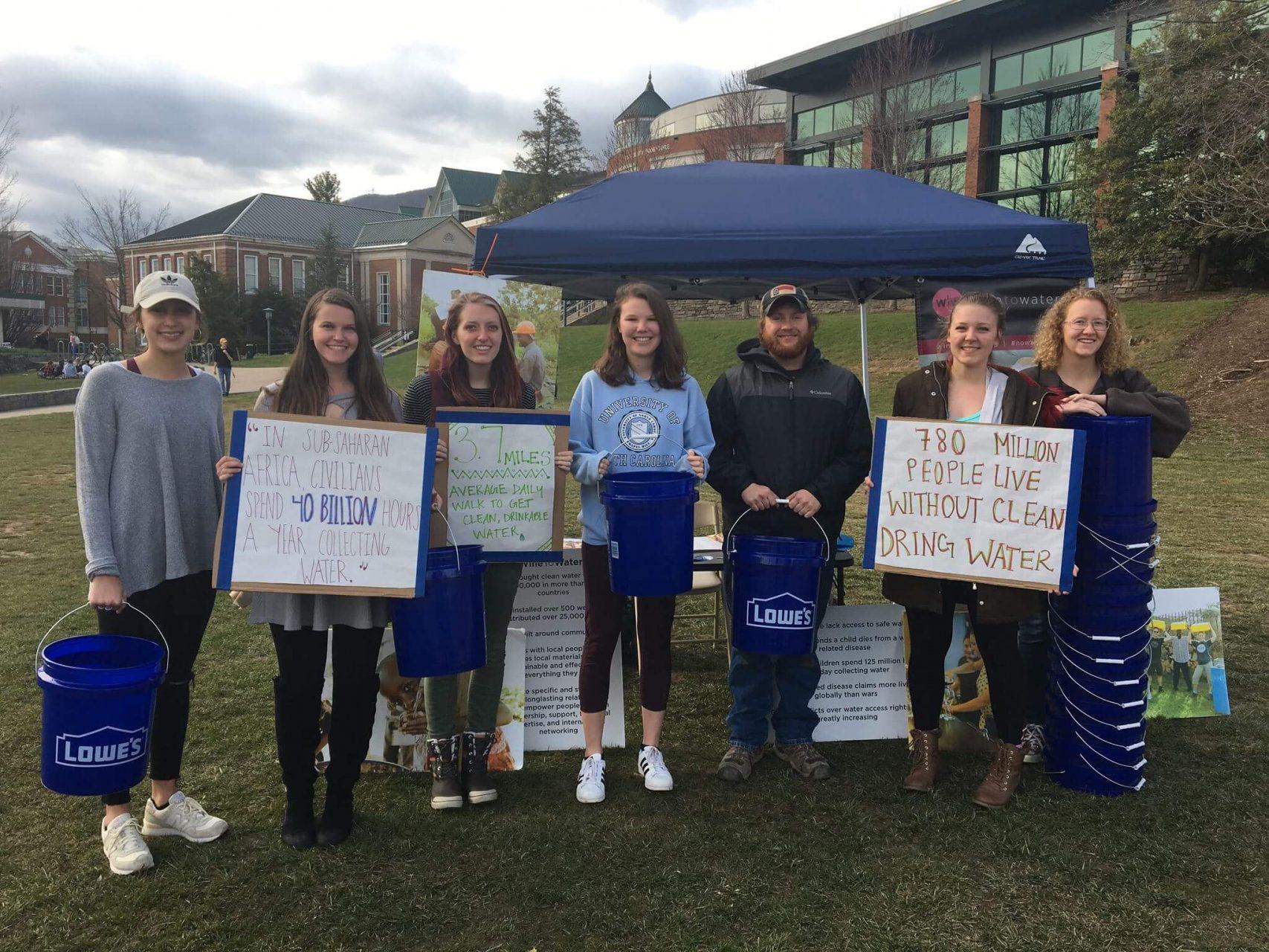 Appalachian State University's Wine to Water club hosts Walk for Water