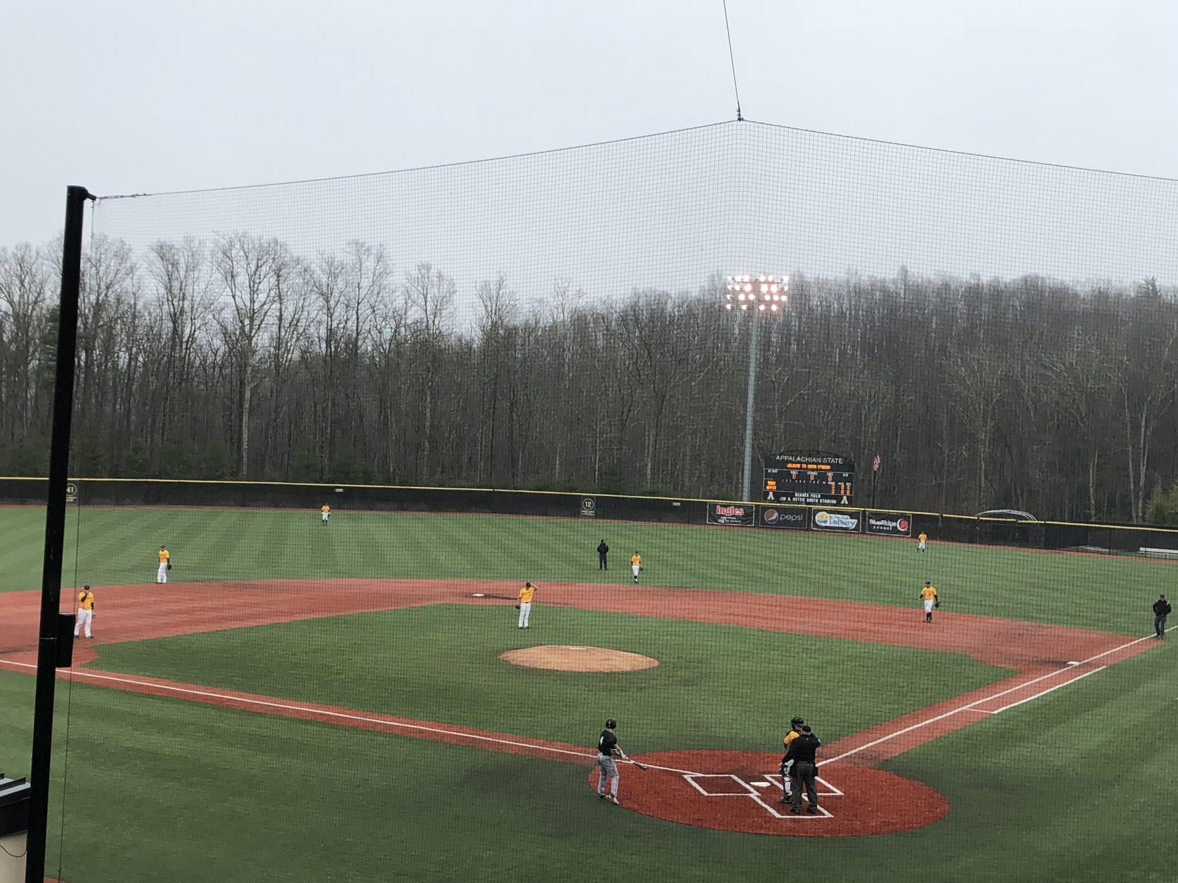 The Mountaineers defeated Georgia State 9-2 on Saturday to even the series 1-1. The tiebreaker will be played Sunday.