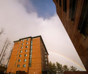 Cone Hall, a residence hall that mainly houses freshman. University Housing said that students who opt out of living on campus for the remainder of the fall 2020 semester should not plan to return to on-campus housing in the spring 2021 semester.