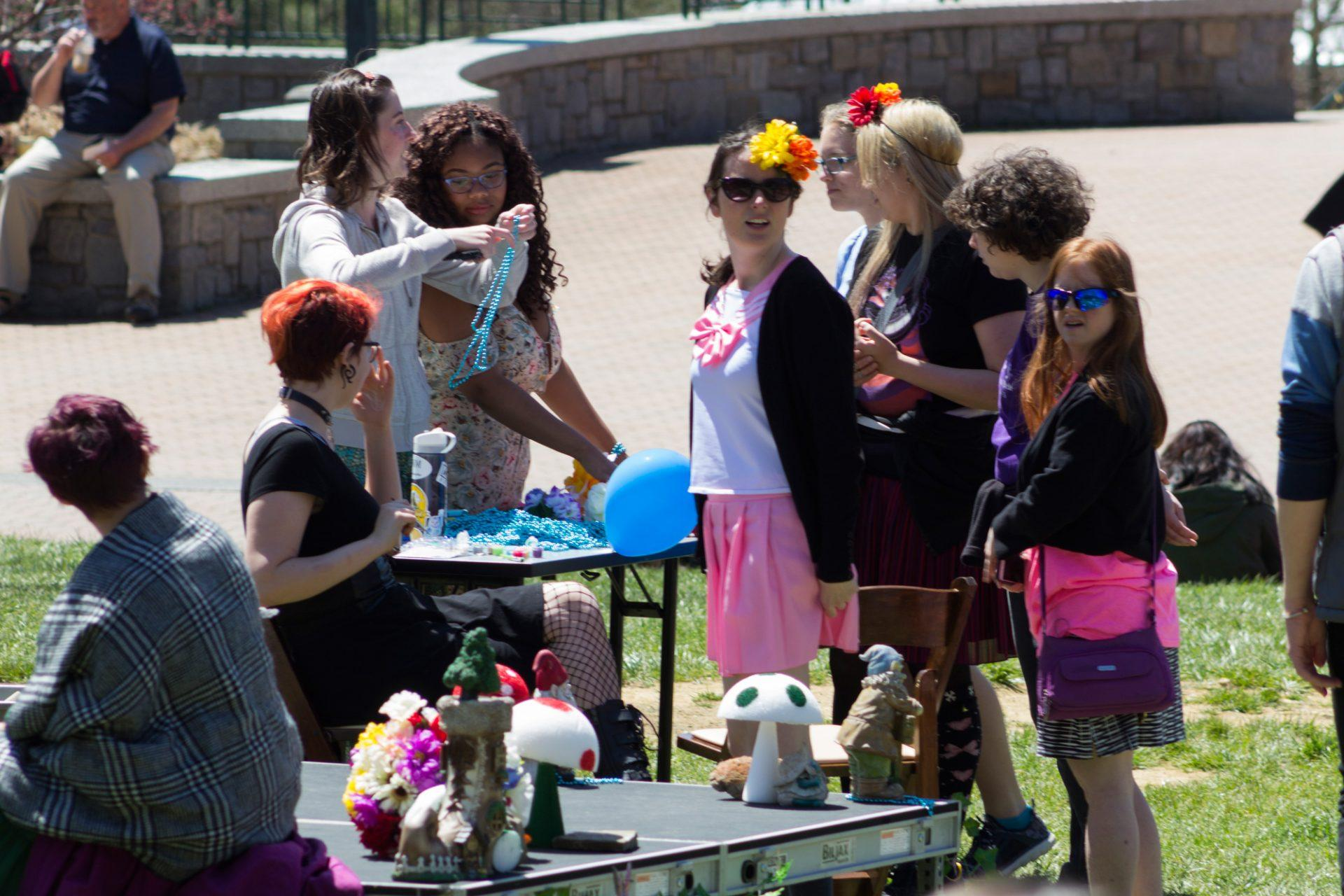 Pagan Student Association puts on Faerie Festival
