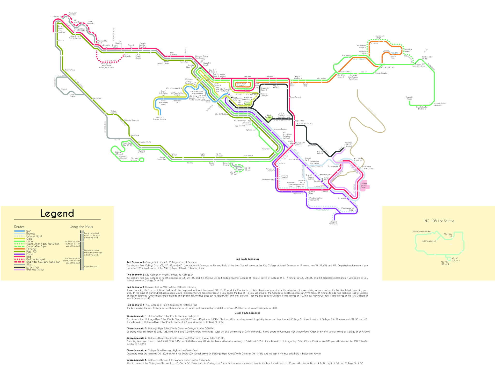 Adjustments made to AppalCart routes