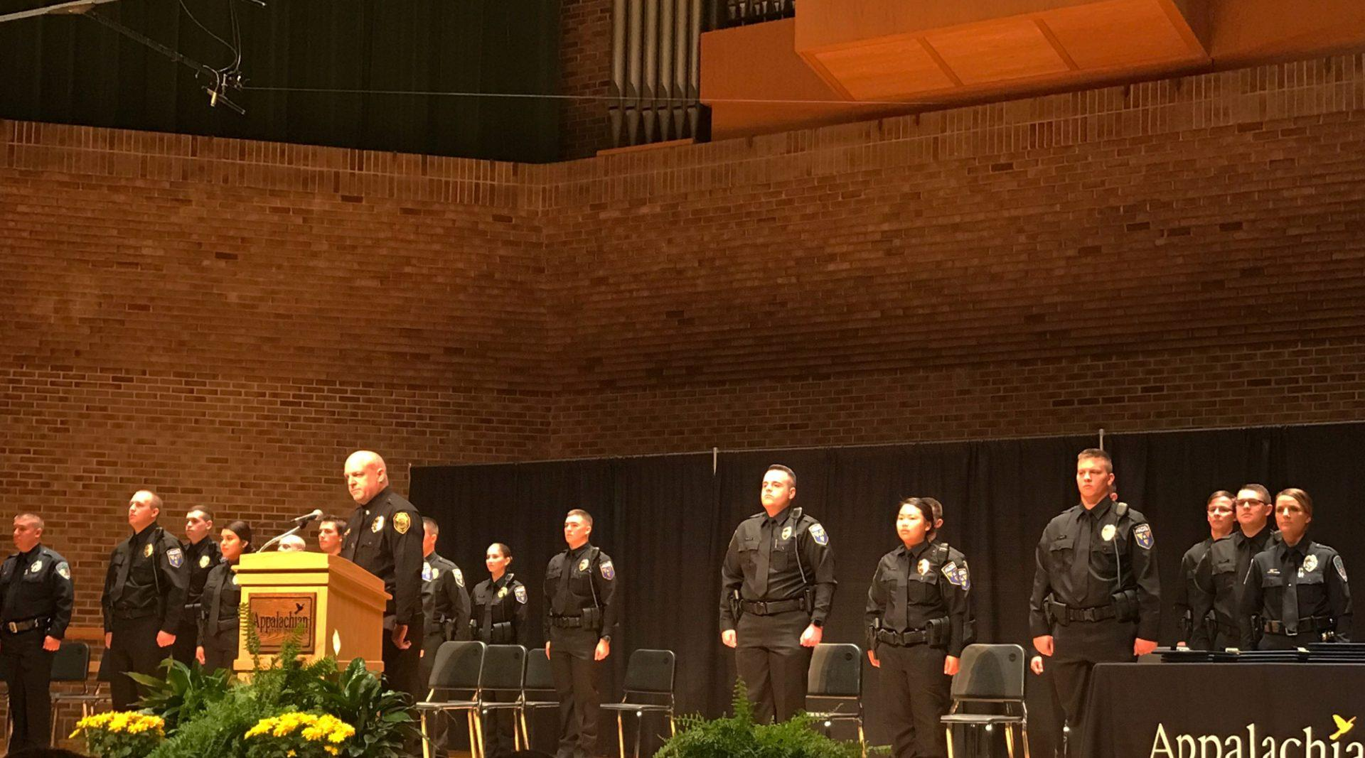 App State holds its first police cadet graduation