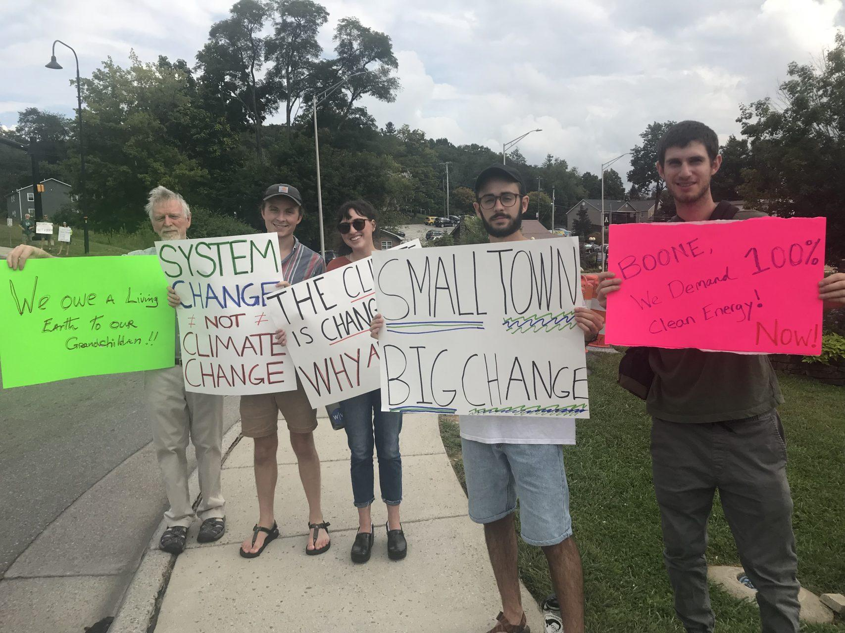Boone citizens band together to inspire climate awareness