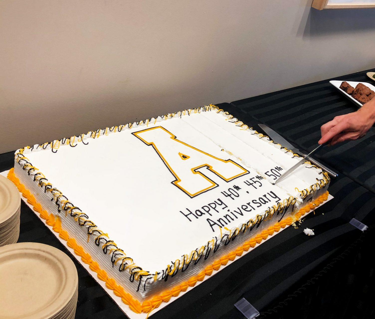 Panel and cake cutting honors Appalachian Studies