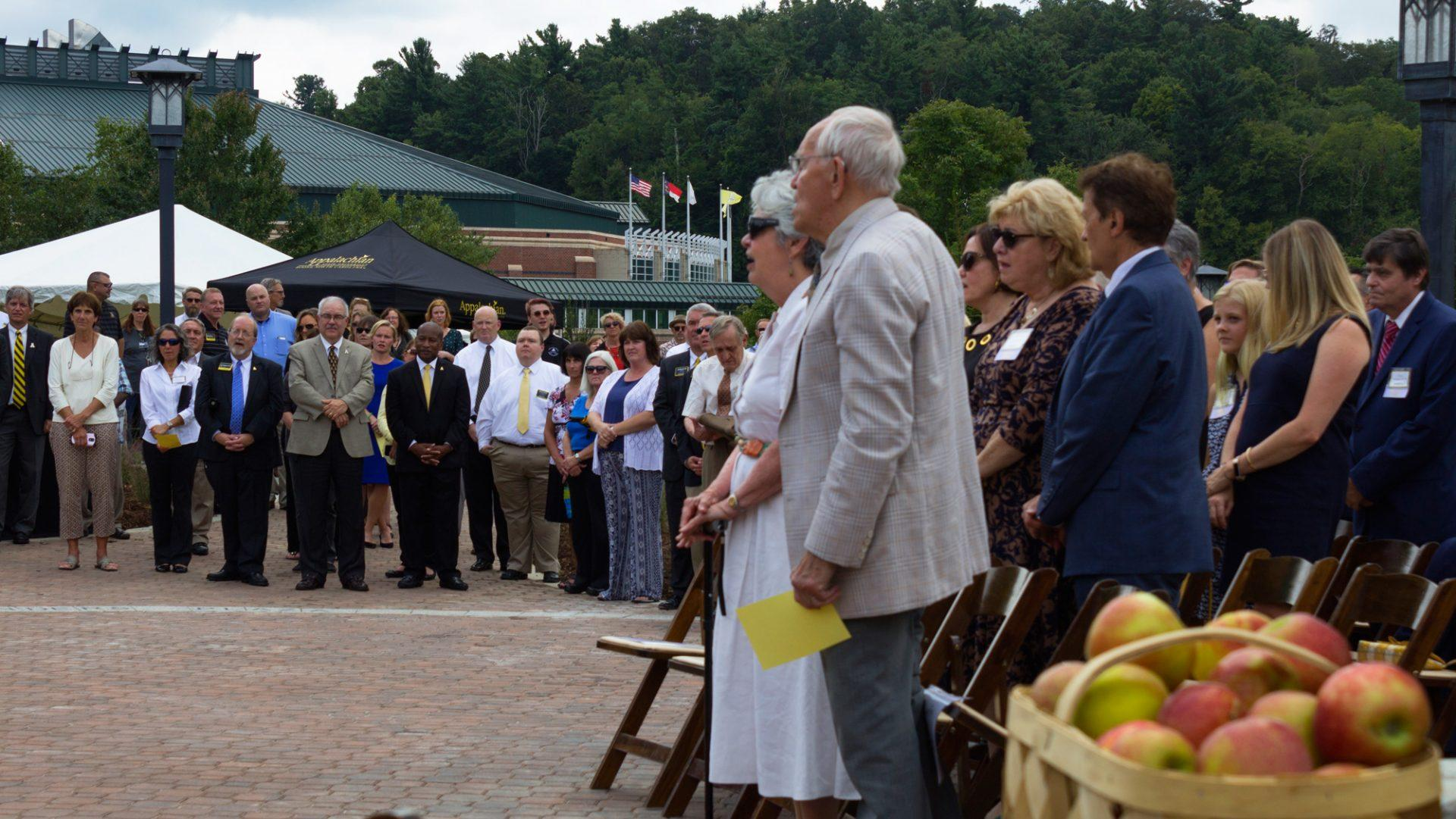 Founders Plaza commemorates Dougherty family